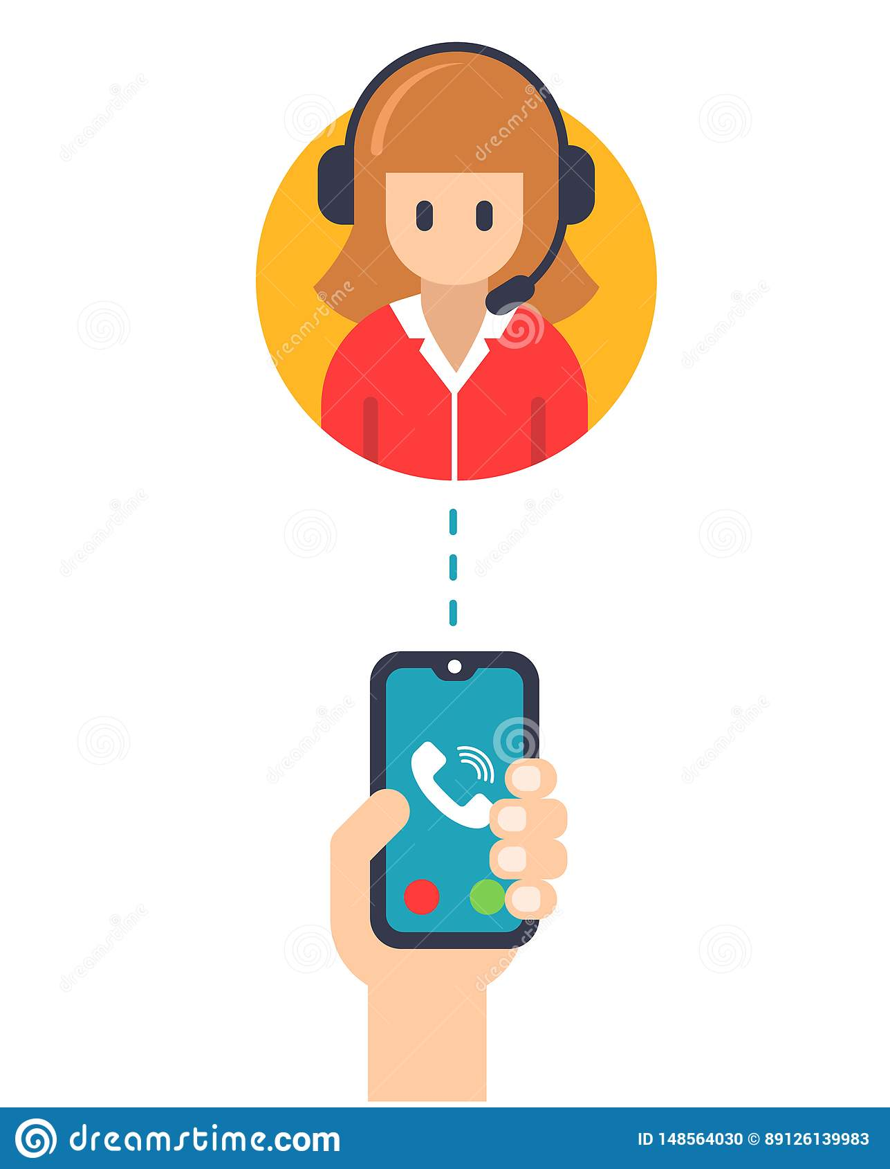 Сервис-менеджер звонка от мобильного телефона
