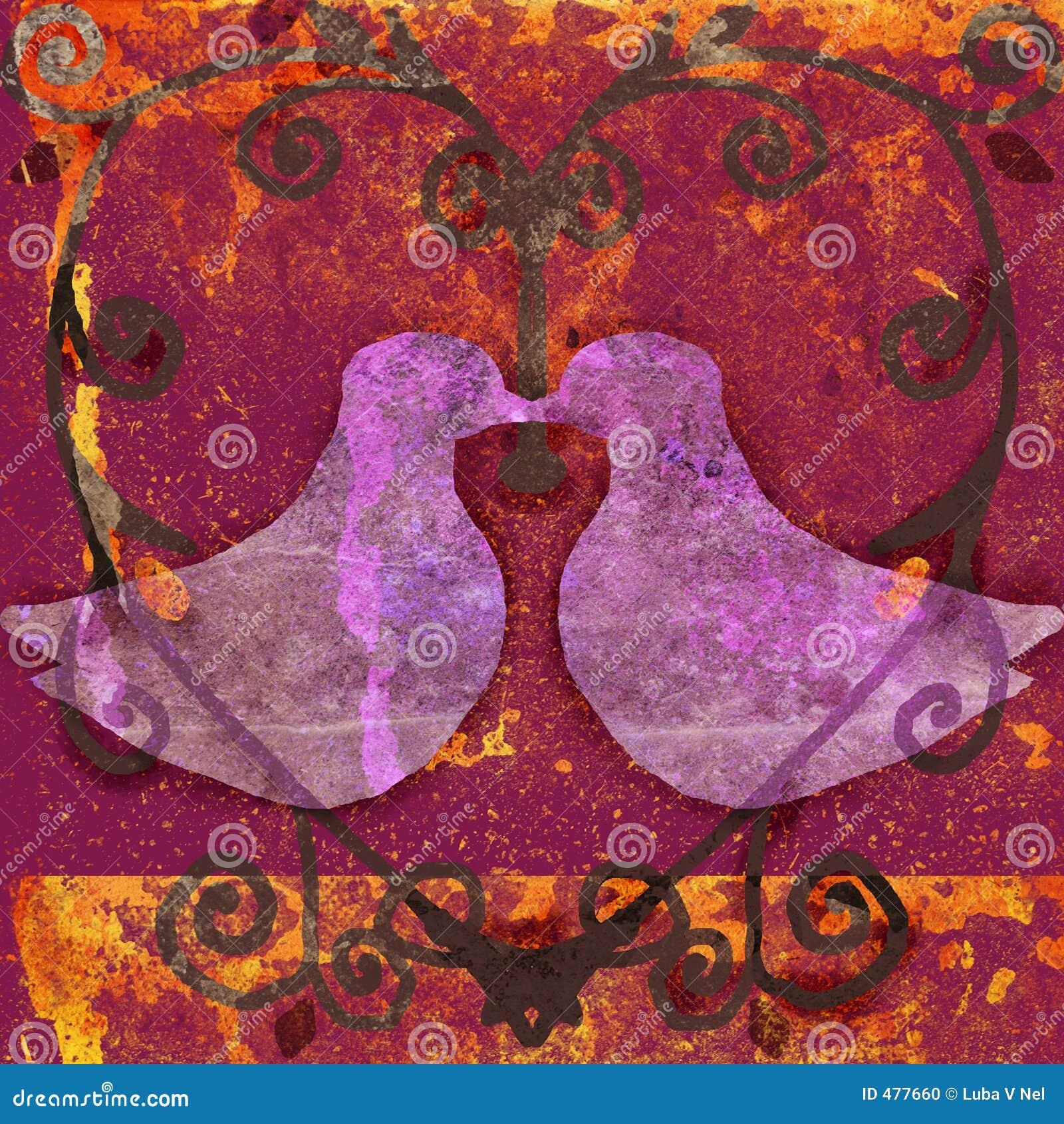 сердце голубей