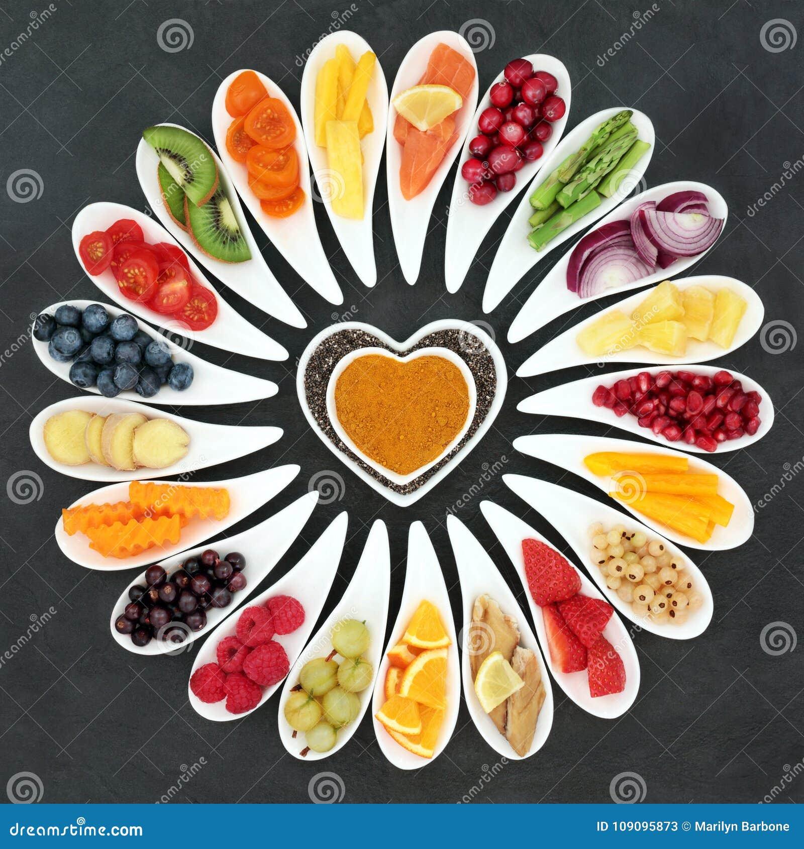 сердце еды здоровое