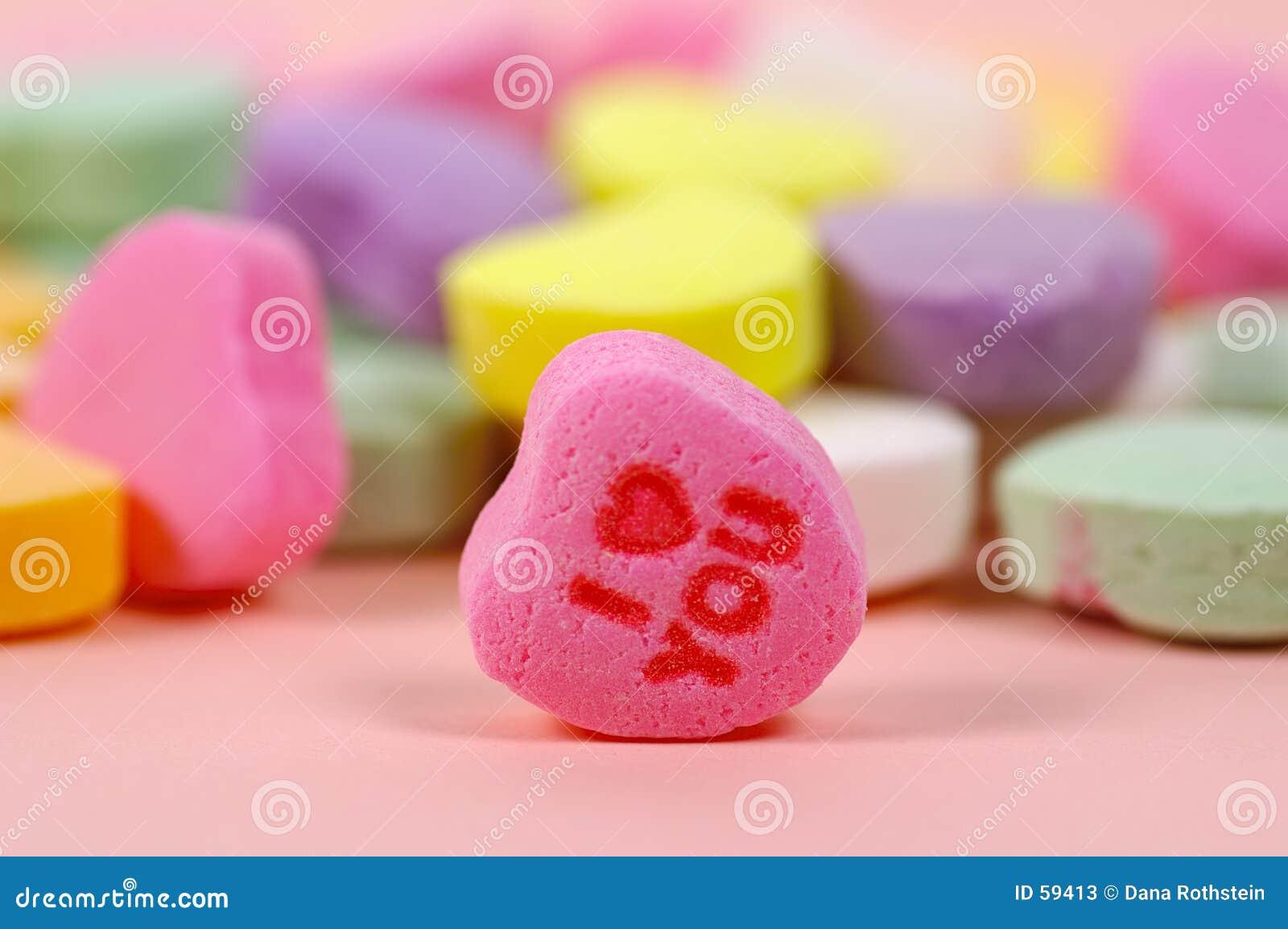 сердце конфеты