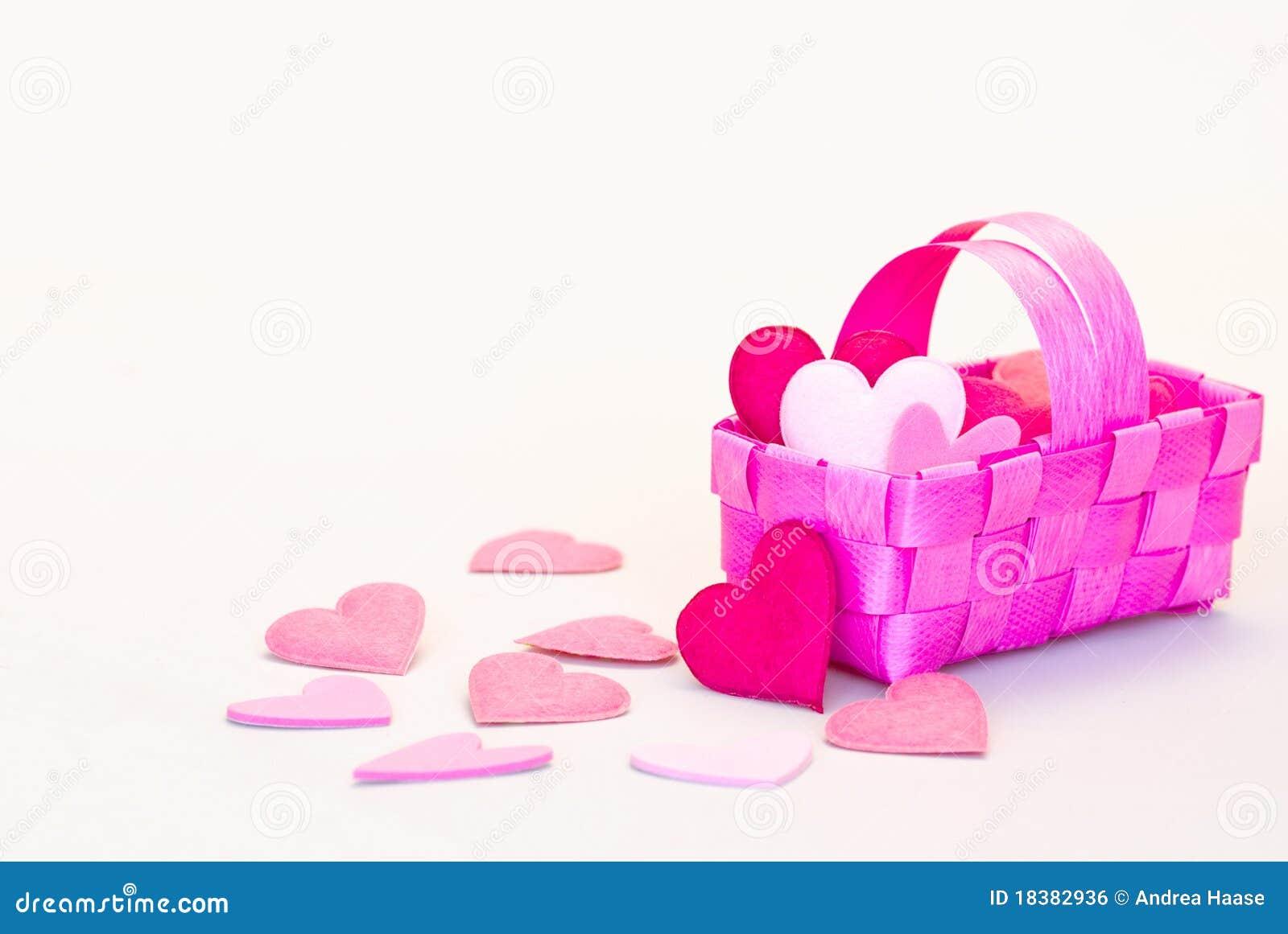 сердце корзины