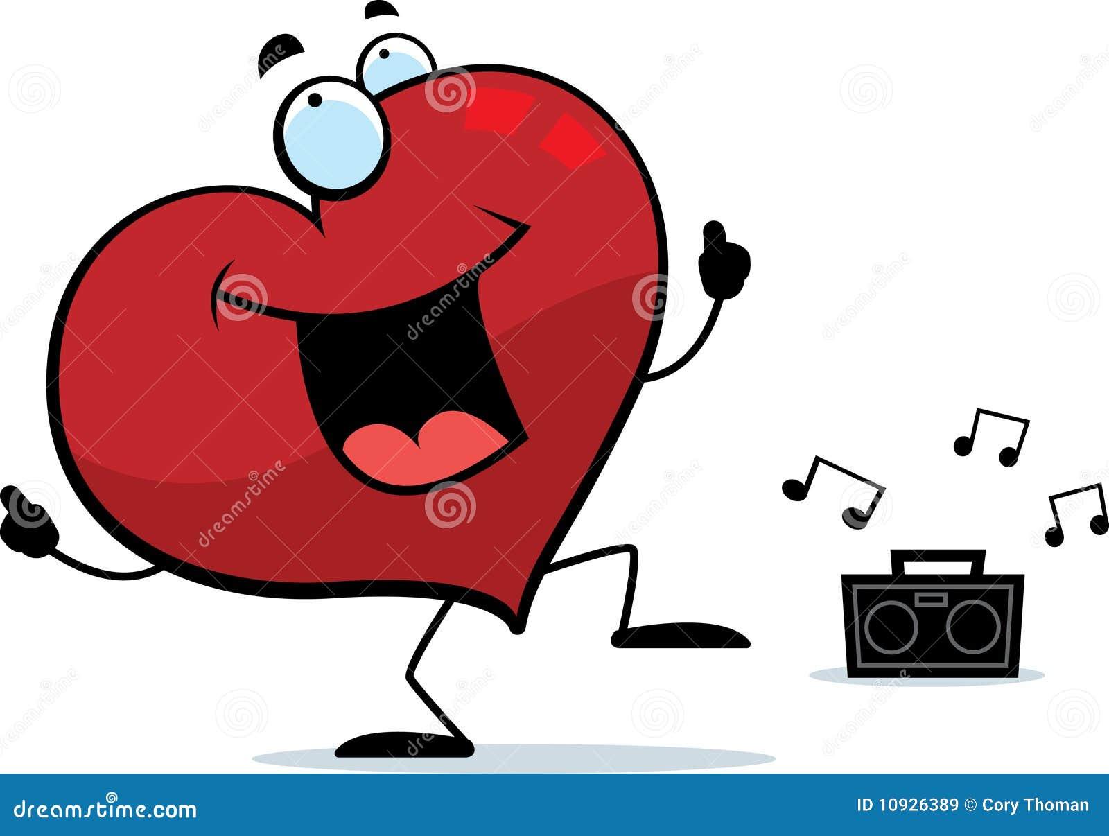 сердце танцы