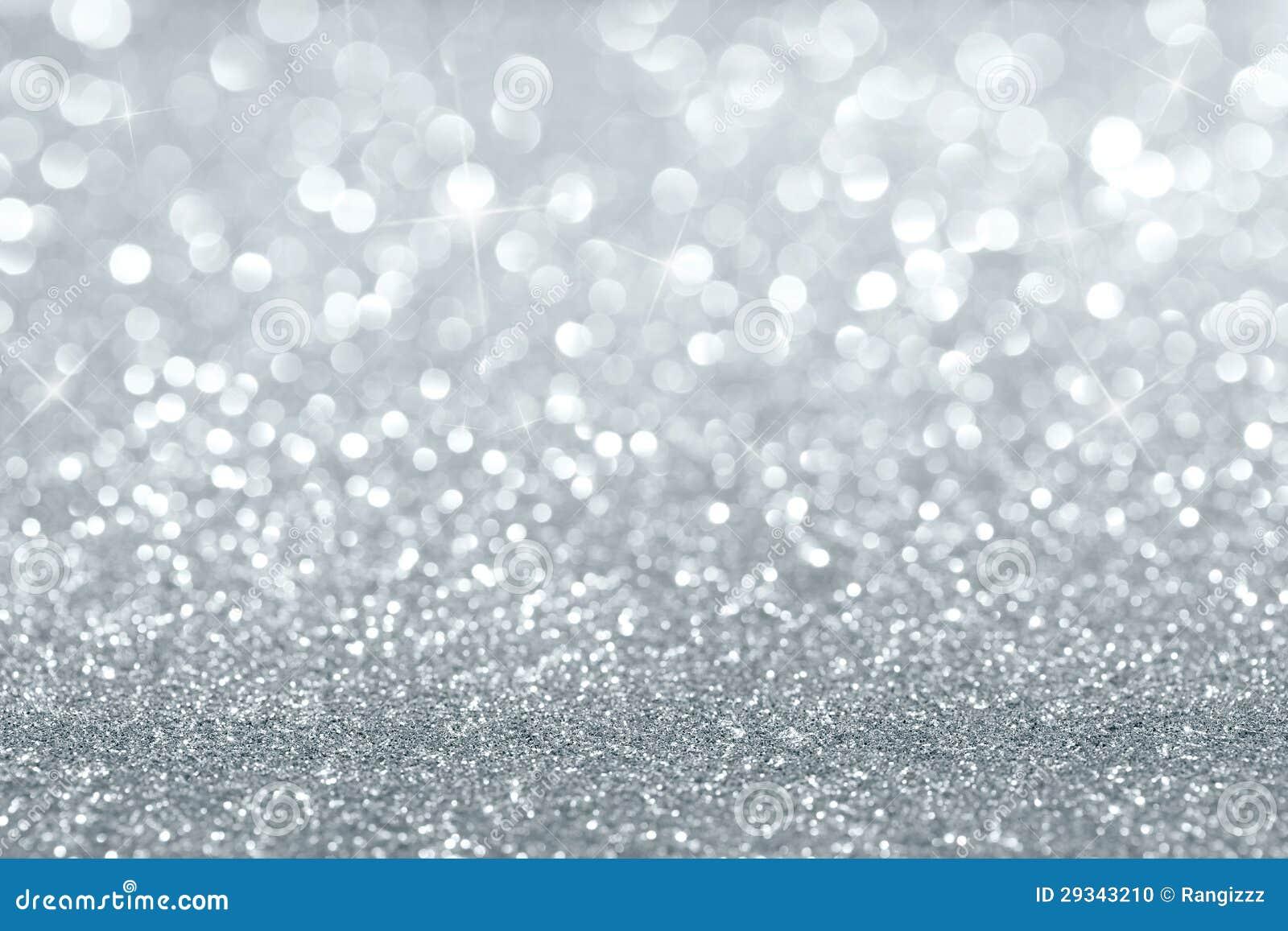 Серебряная предпосылка яркого блеска