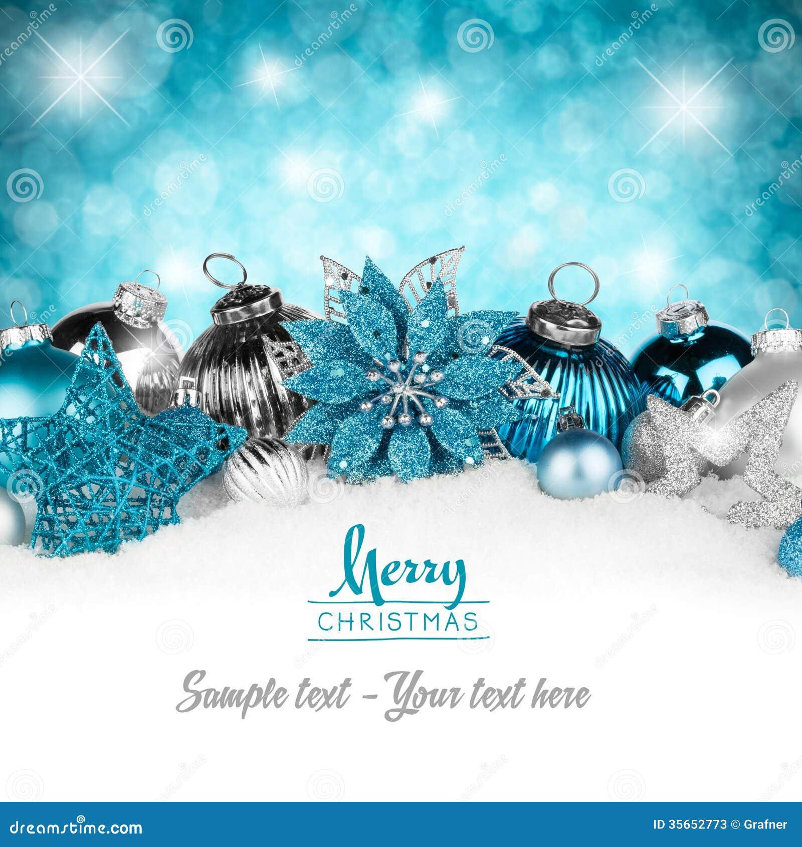 Серебряная рождественская открытка нефти