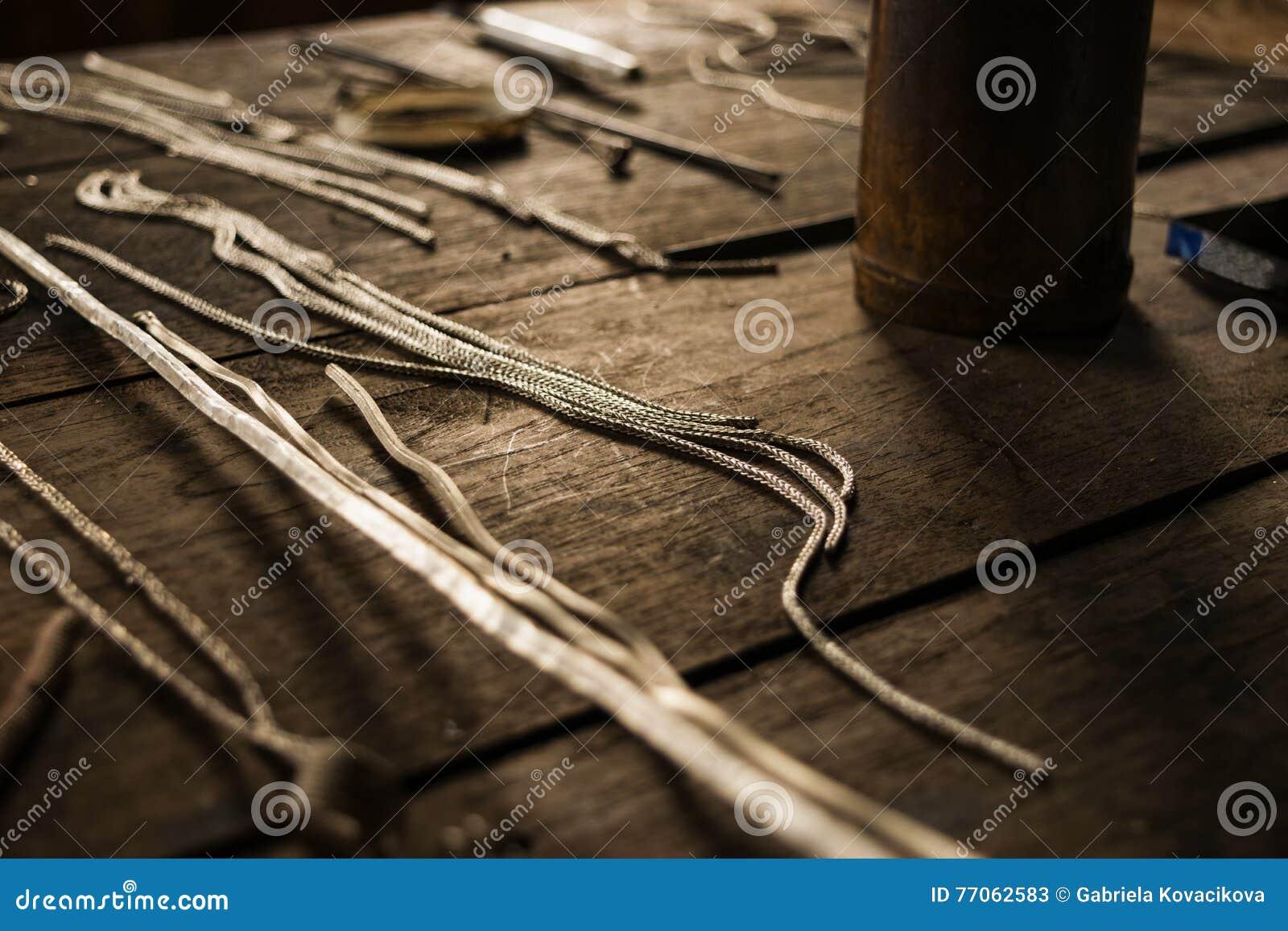 Серебряные цепи для делать продукты украшений
