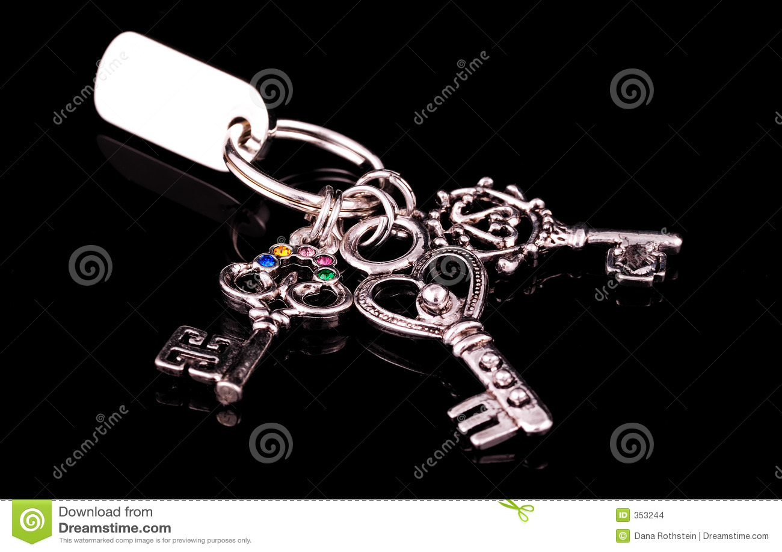 серебр ключей