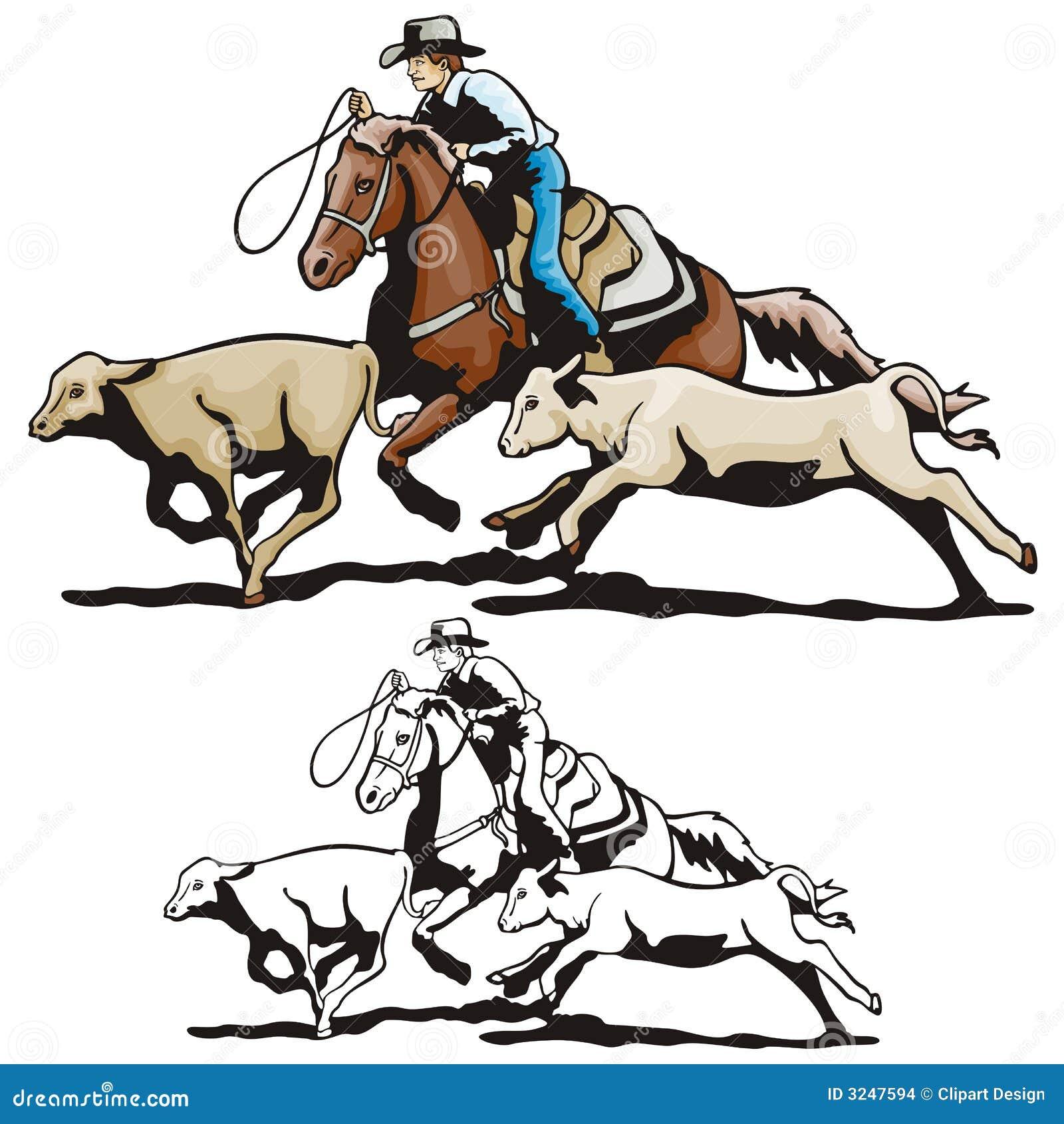 серия иллюстрации западная