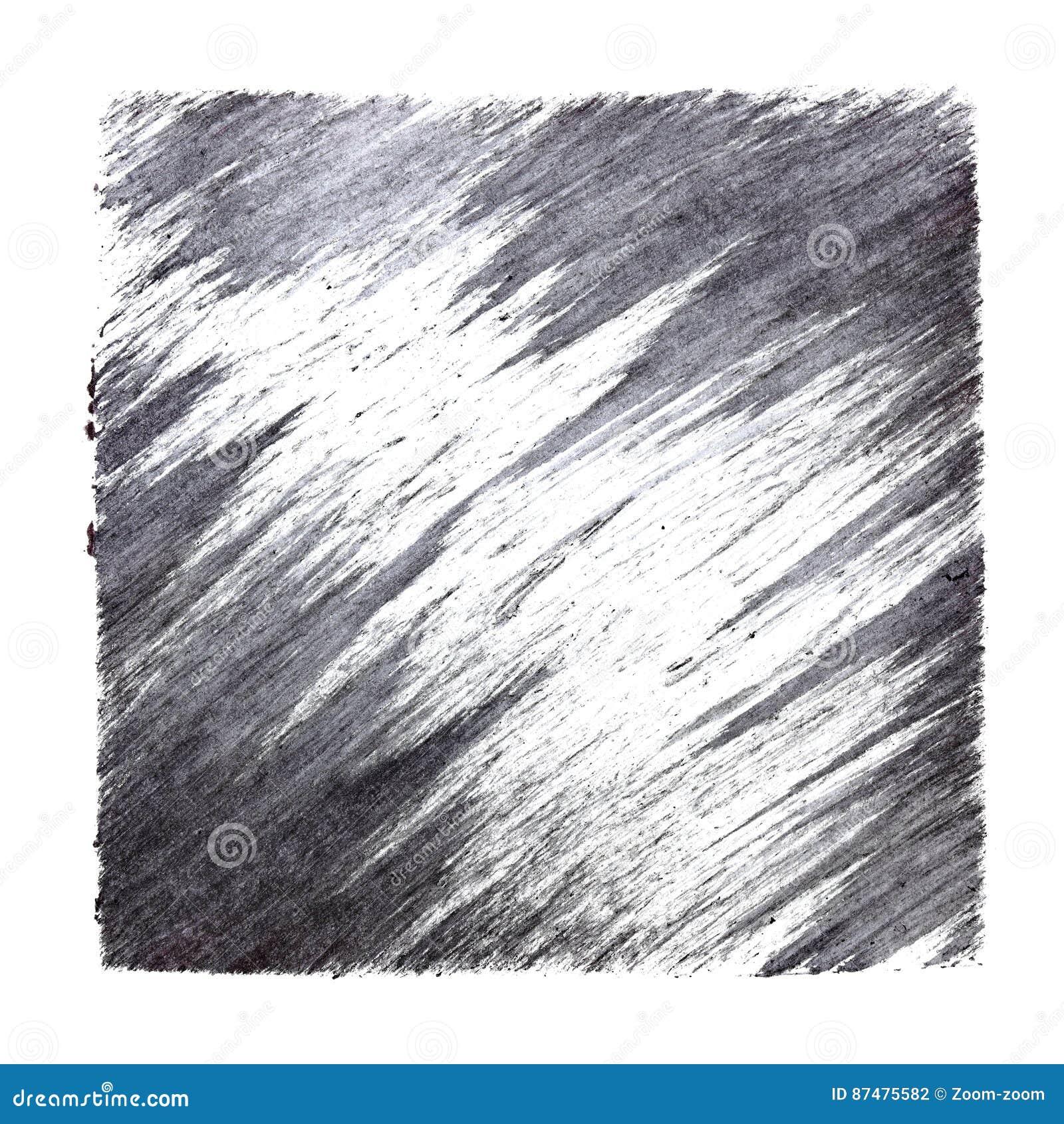 Серый квадрат с ходами щетки