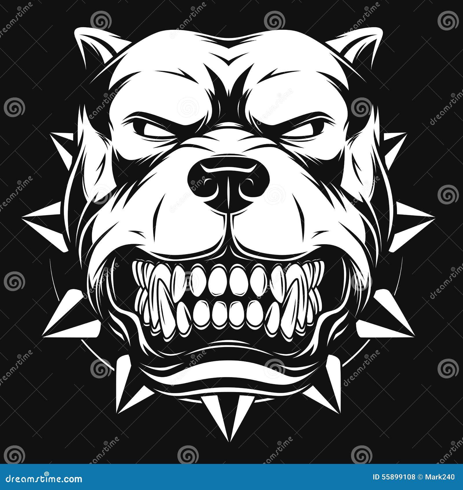 Сердитая собака