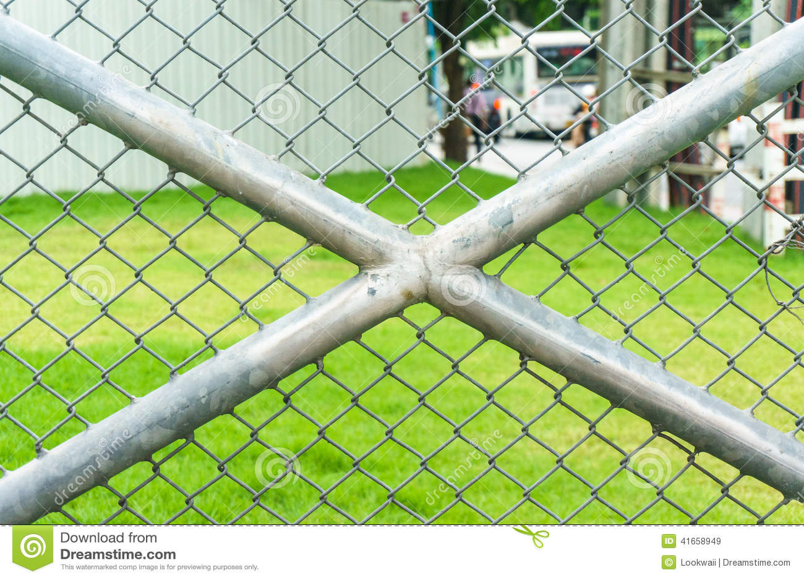 Сетка проволочной изгороди и металла