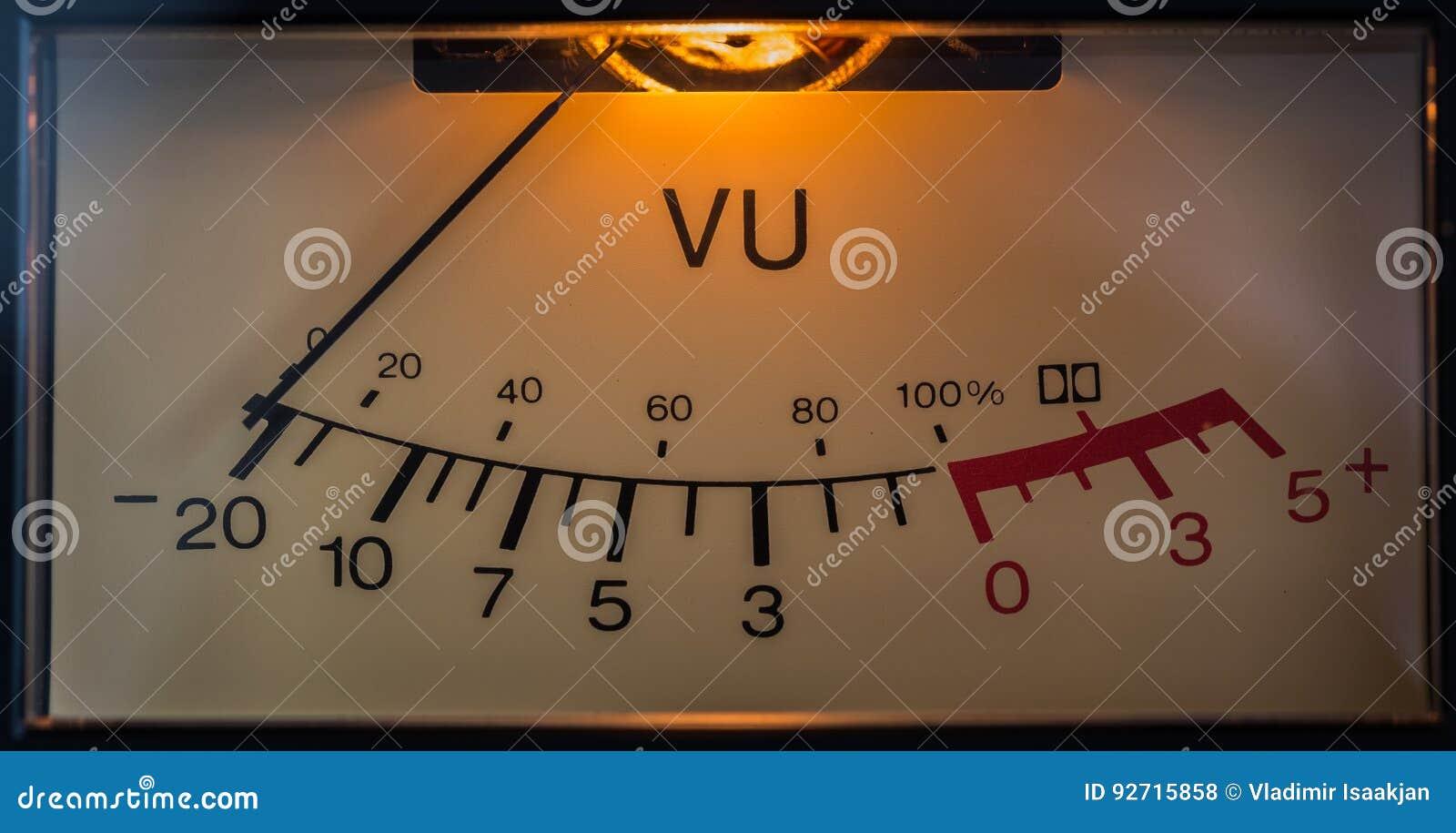 сетноой-аналогов электронный метр vu