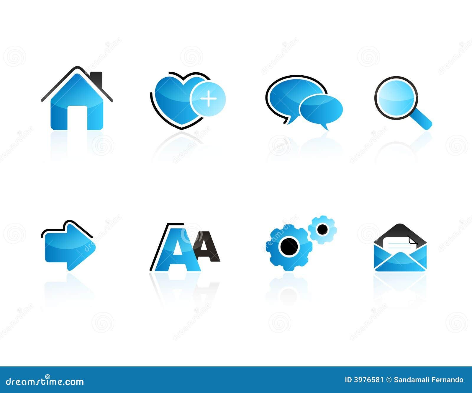 сеть иконы aqua установленная