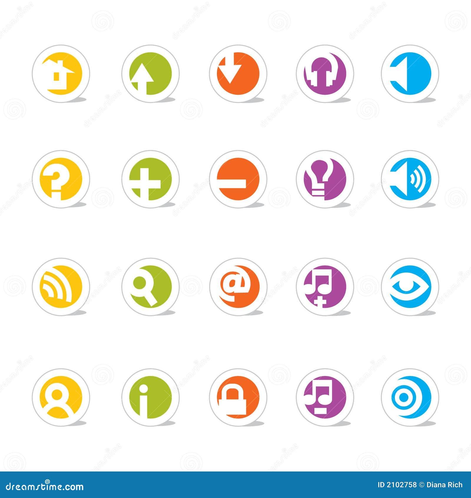 сеть икон просто