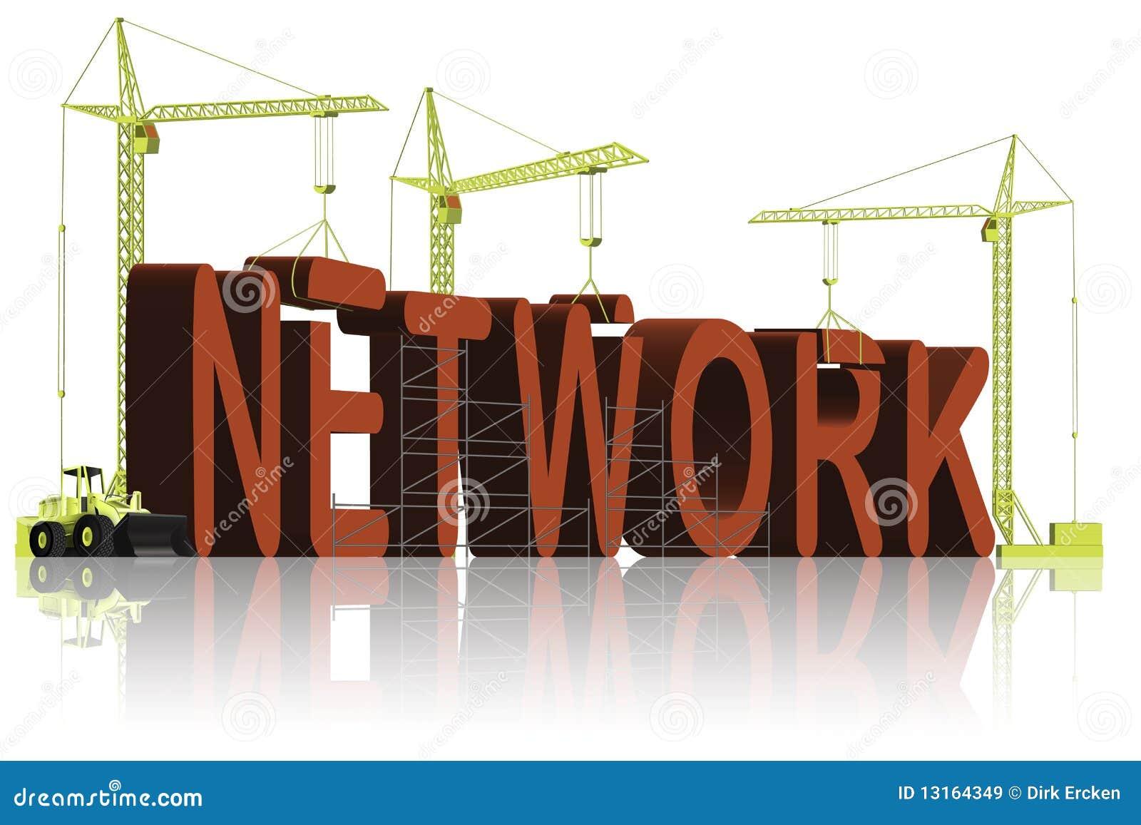 сеть контактной схемы соединения здания