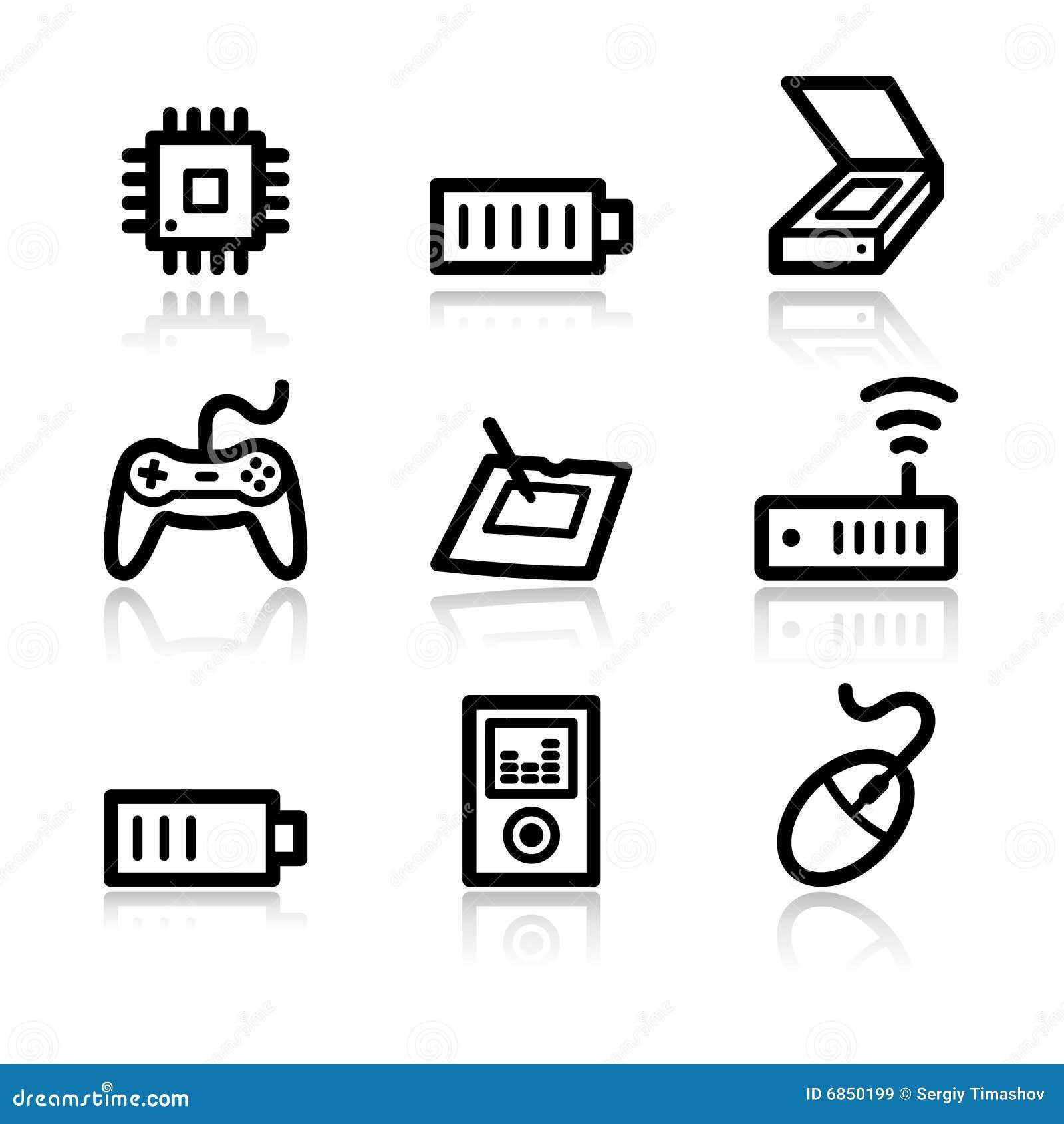 сеть 2 икон электроники