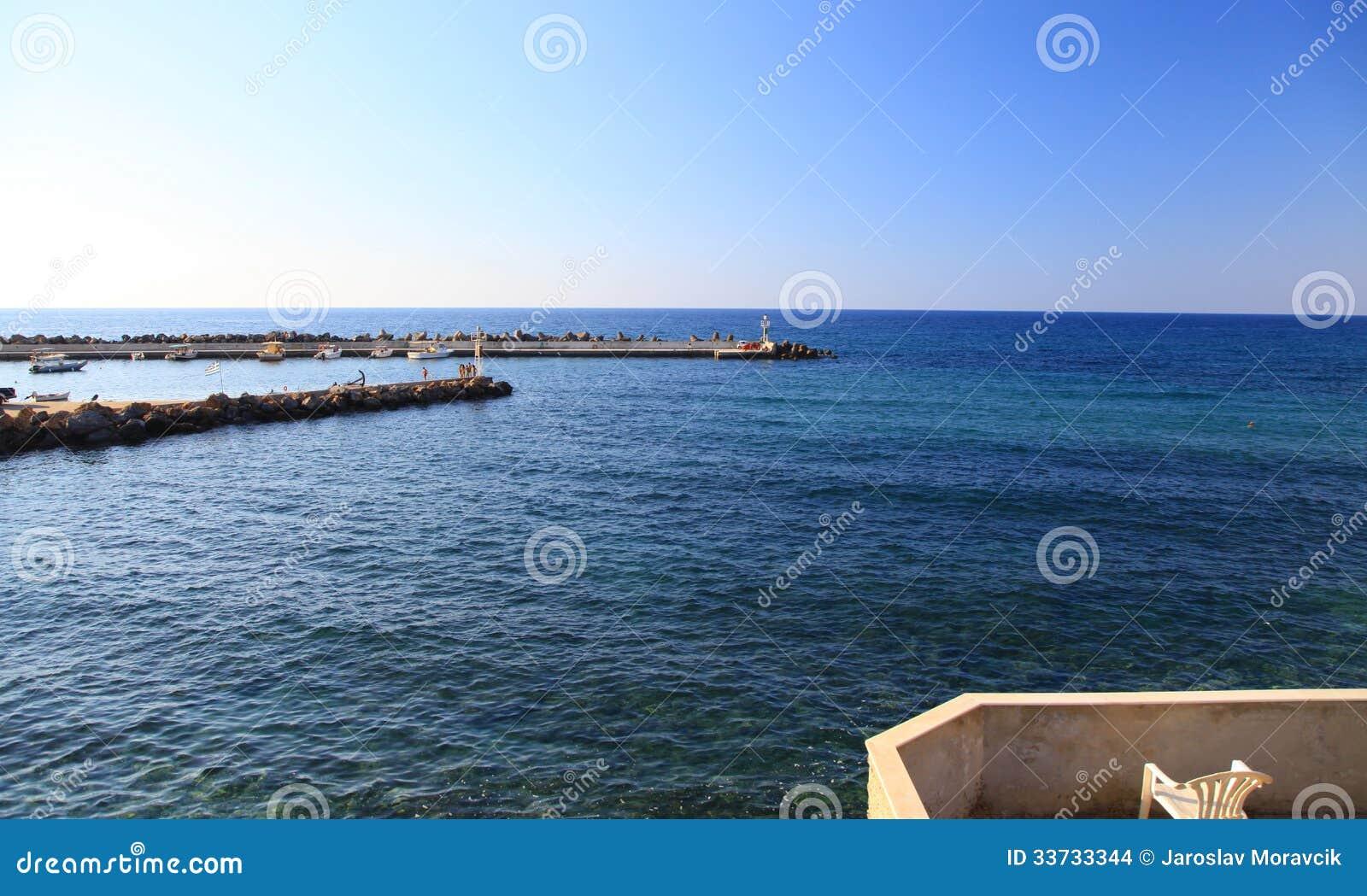 Село Panormo на Крите, Греции