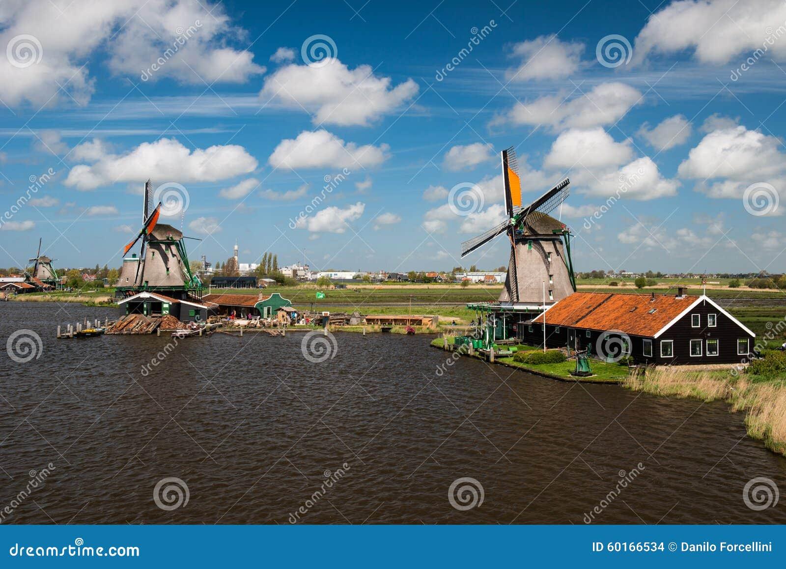 Село Zaanse Schans