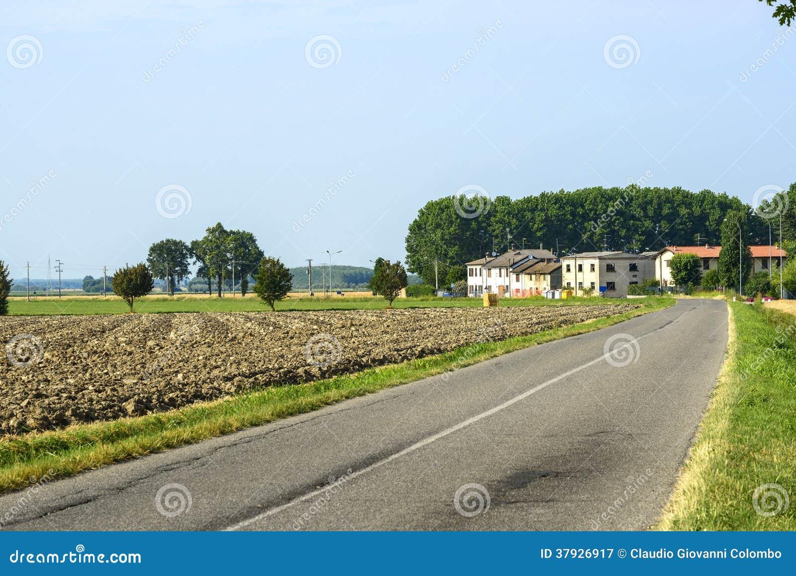Сельская местность около Павии