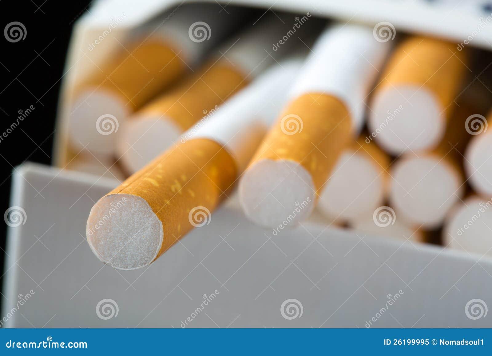 Сигареты в пакете