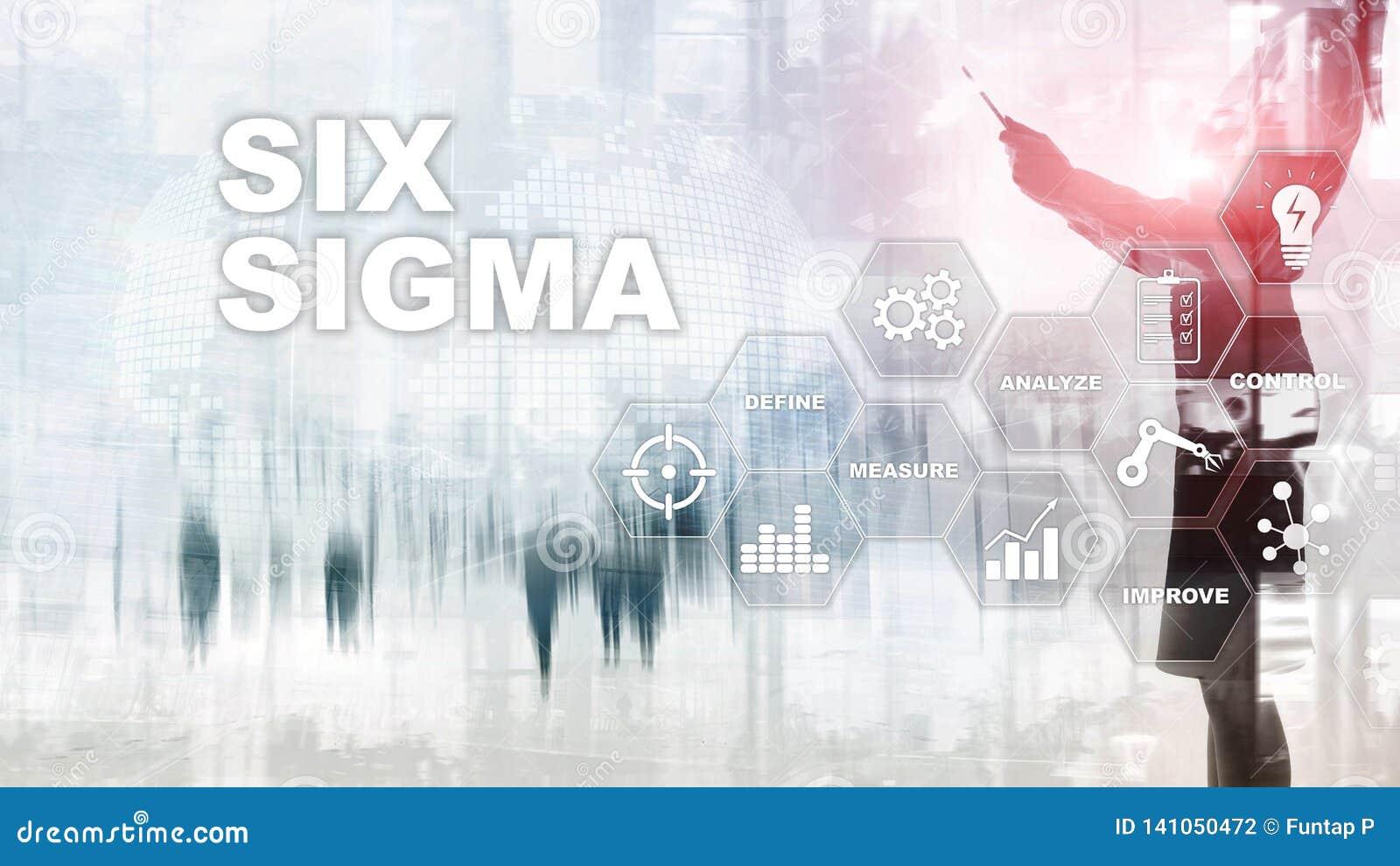 6 сигма, производство, проверка качества и производственных процессов улучшая концепцию Дело, интернет и tehcnology
