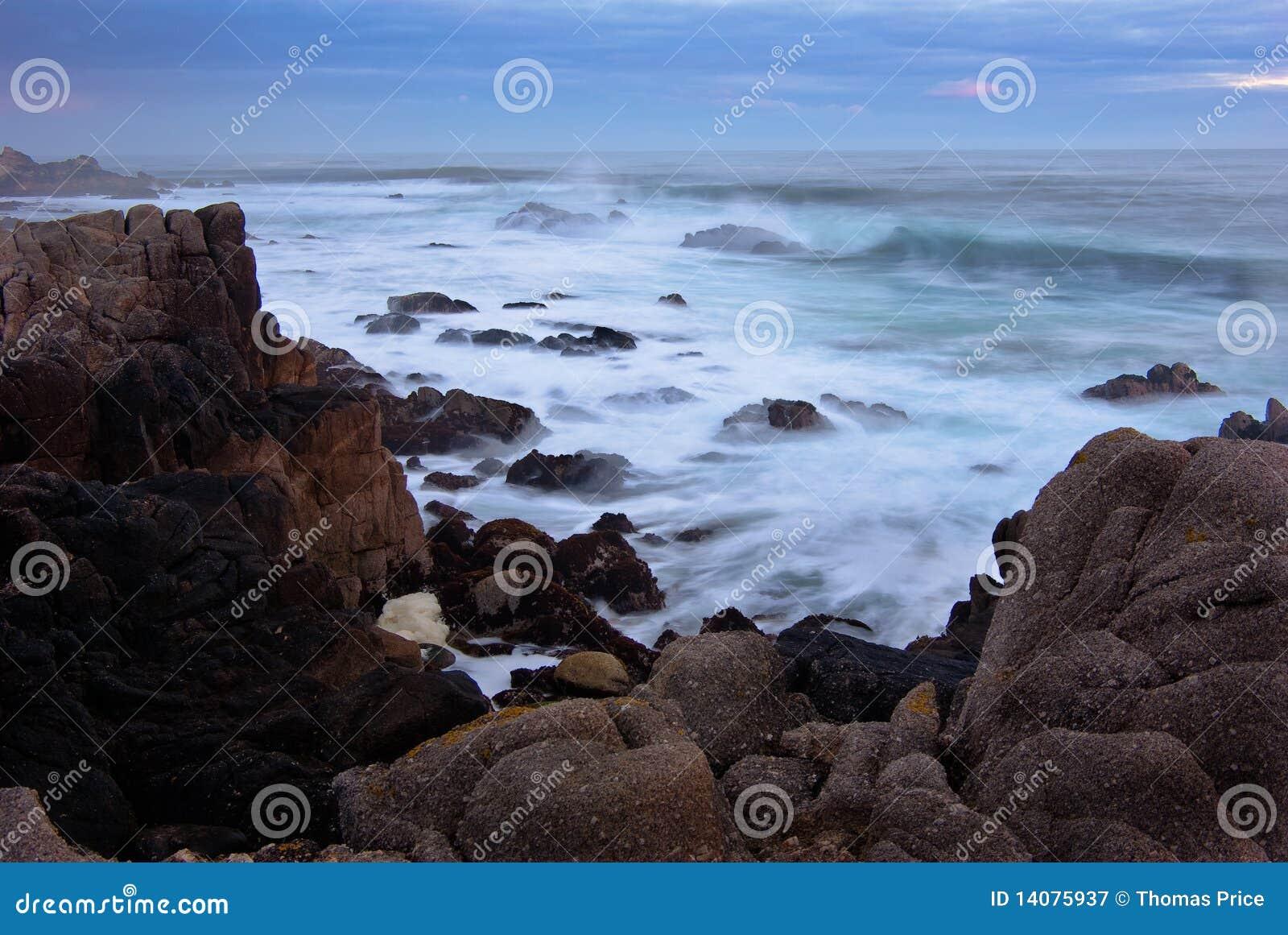 сила океана Монтерей