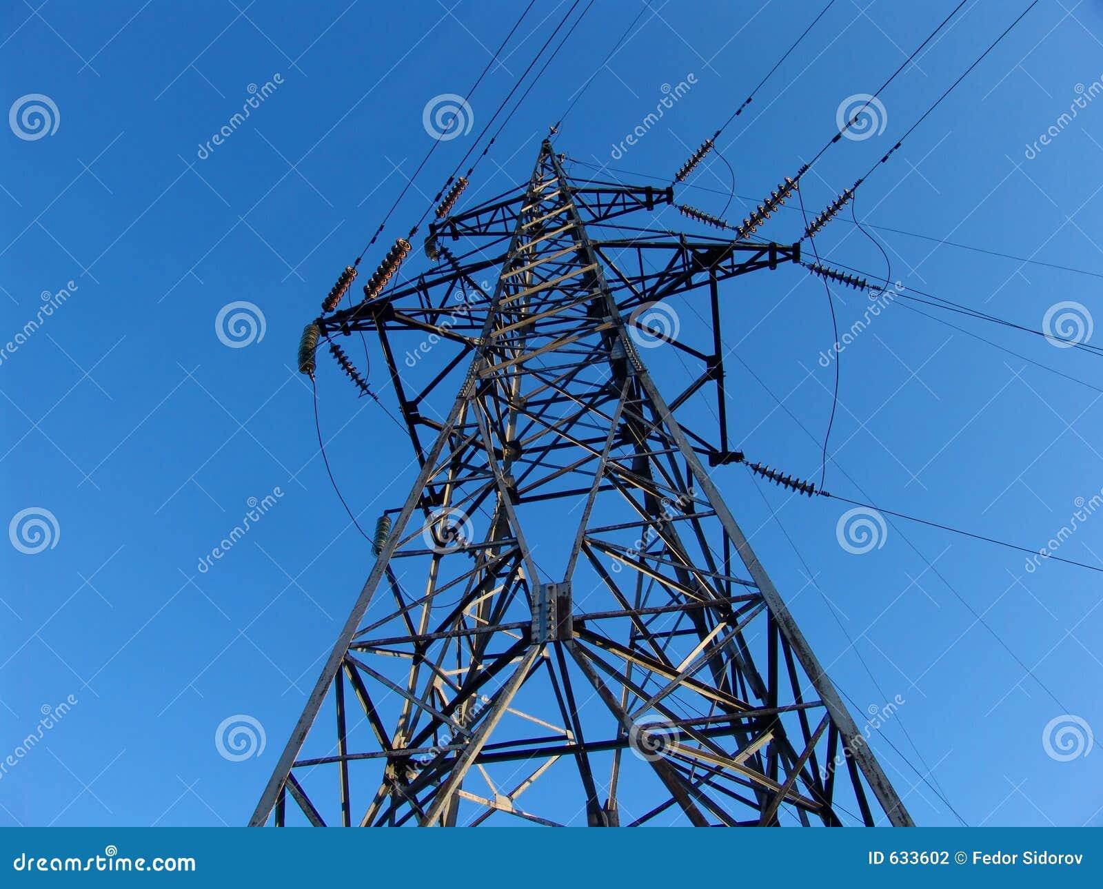 Download сила полюса стоковое фото. изображение насчитывающей электрическо - 633602