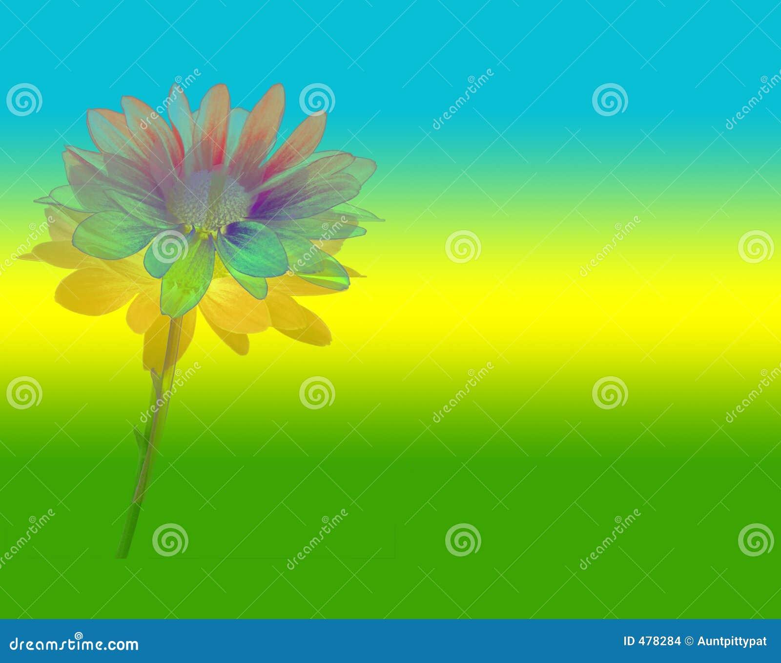 сила цветка