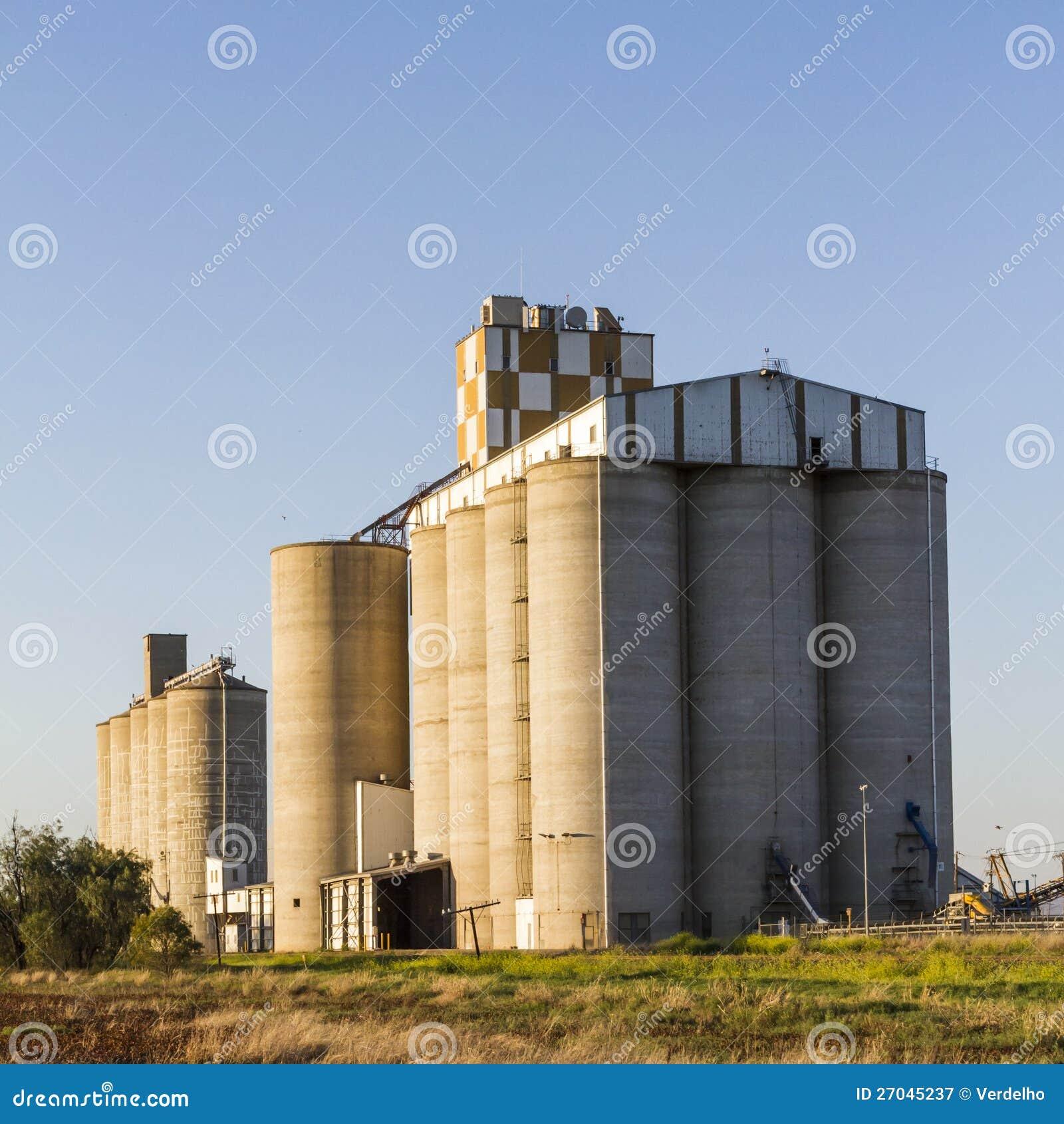Силосохранилища зерна