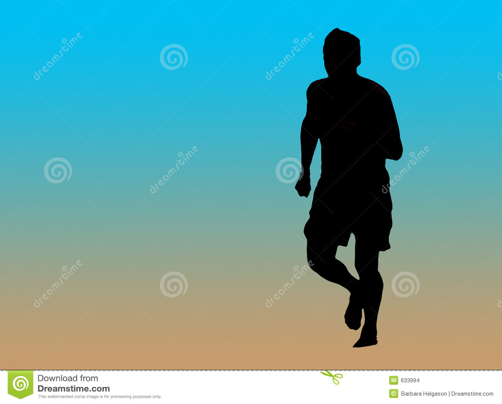 Download силуэт jogger иллюстрация штока. иллюстрации насчитывающей людск - 633994