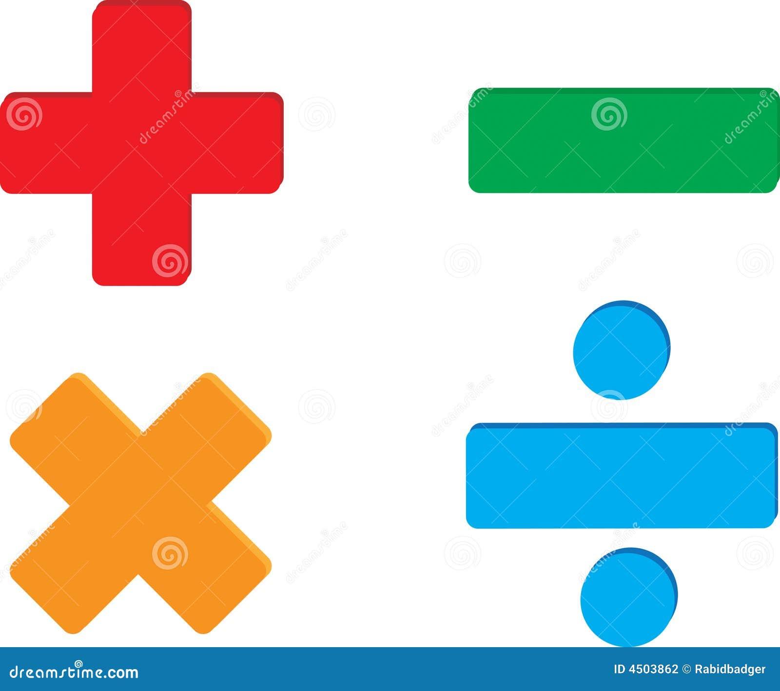 Division Symbols Math Golfclub