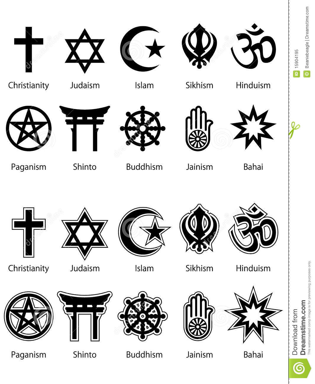 relegious symbols Test your knowledge with amazing and interesting facts, trivia, quizzes, and brain teaser games on mentalflosscom.