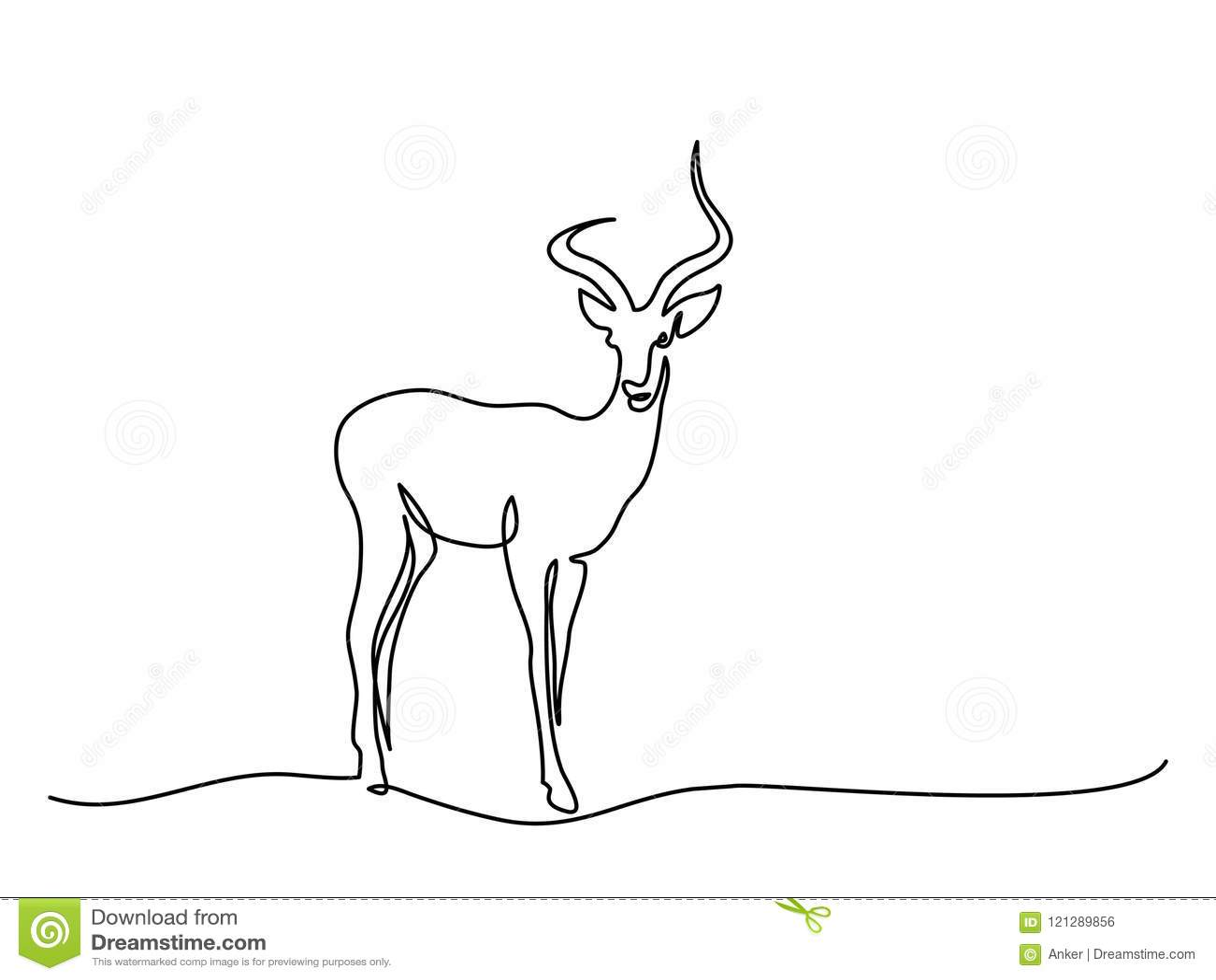 Символ импалы идя