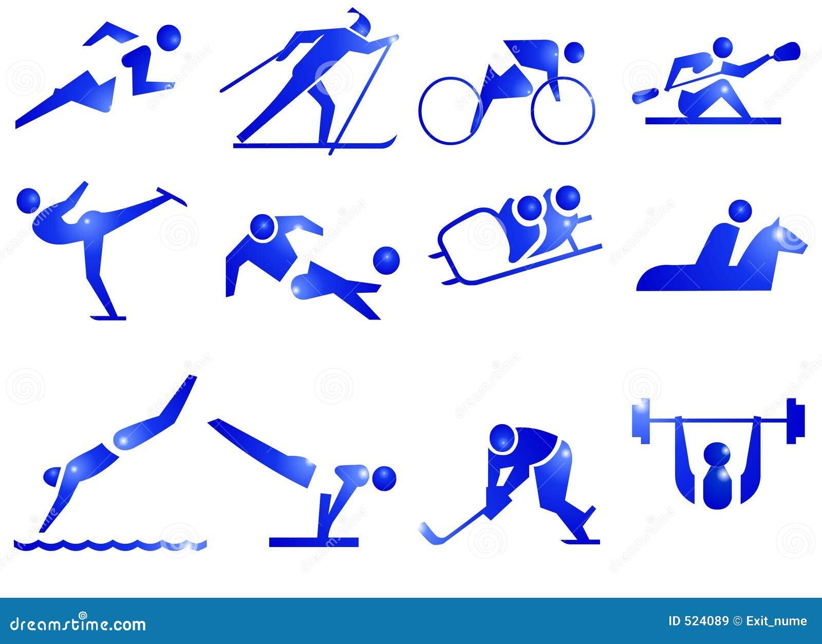 символ спорта икон
