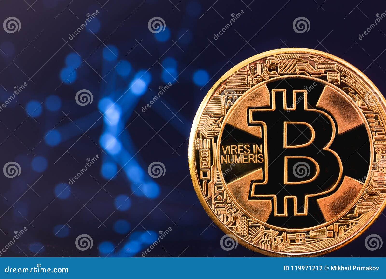 Символ Bitcoin, тайнопись