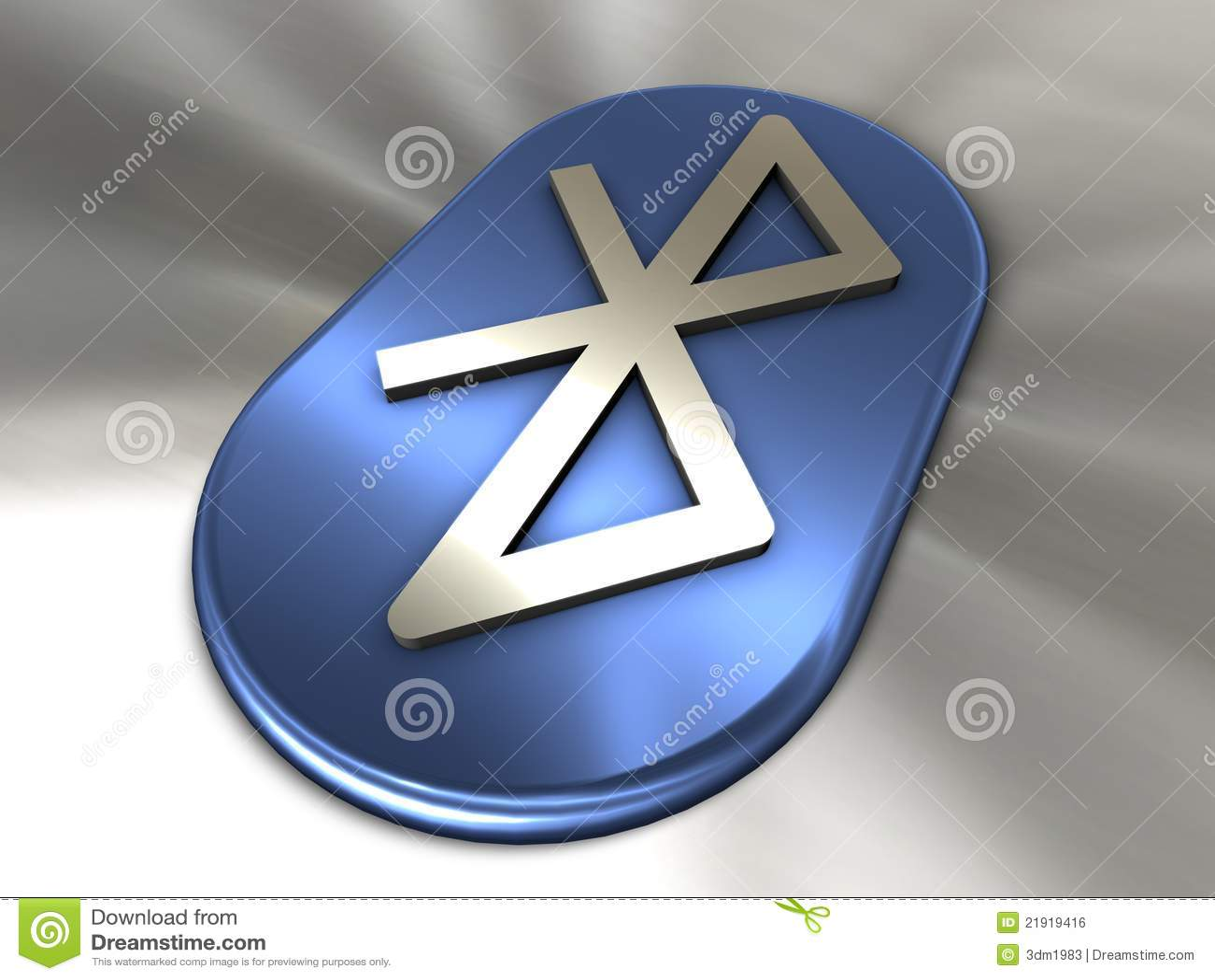 символ bluetooth