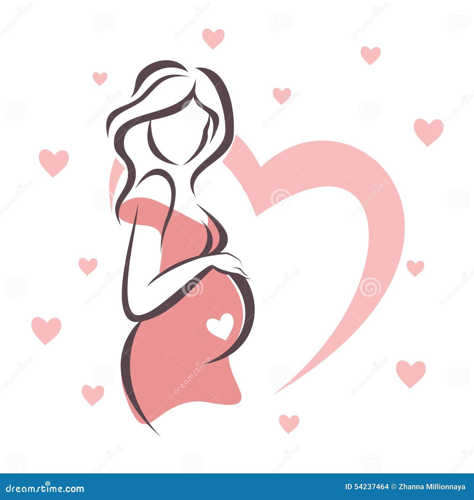 Красивыеграфии беременной женщины с мужем