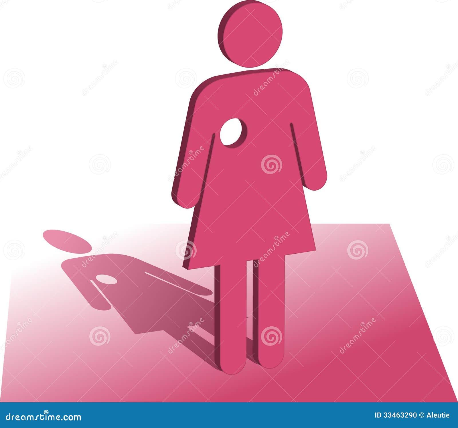 Символ рака молочной железы