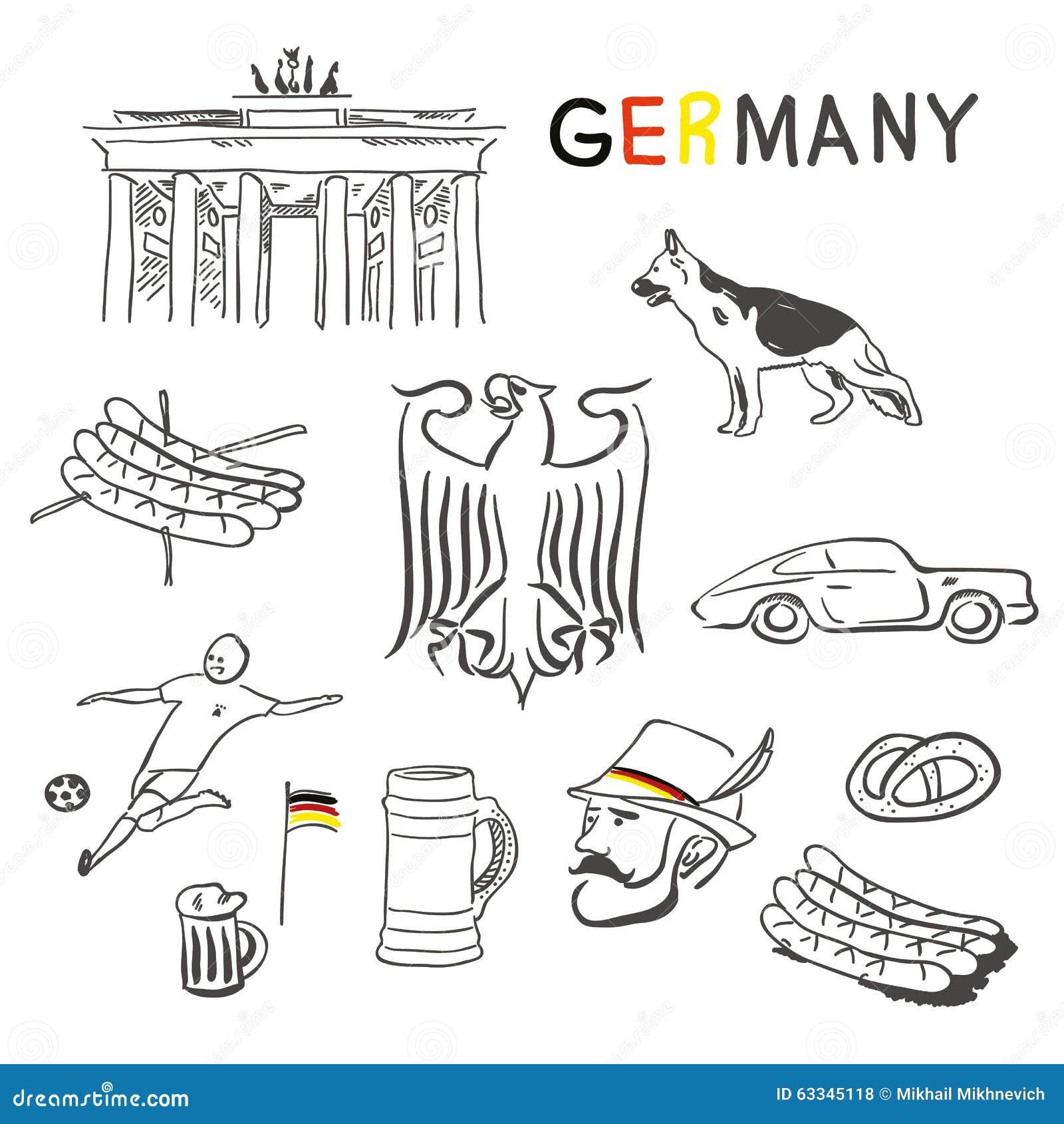 символы германии в картинках