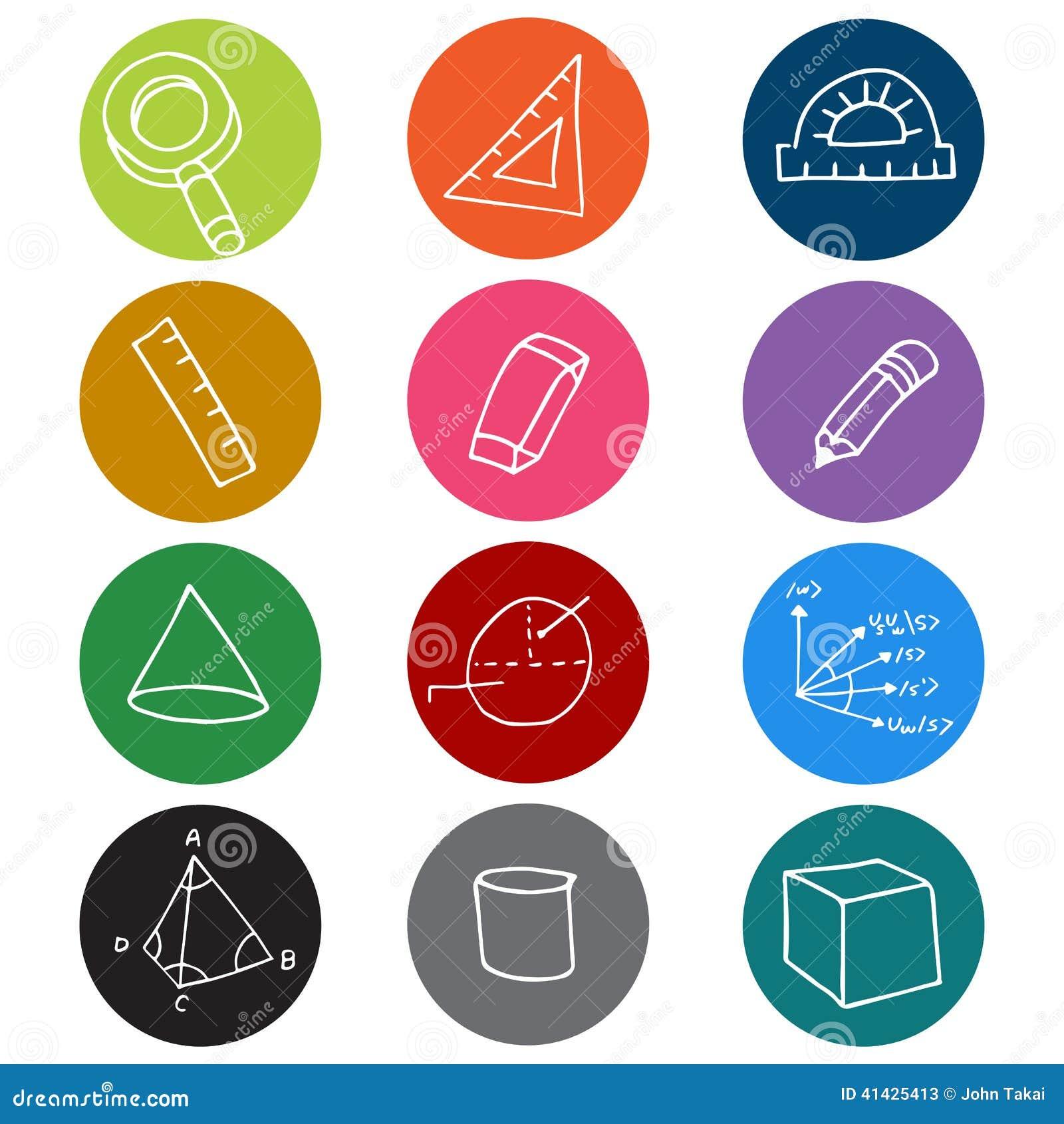 Символы значка геометрии