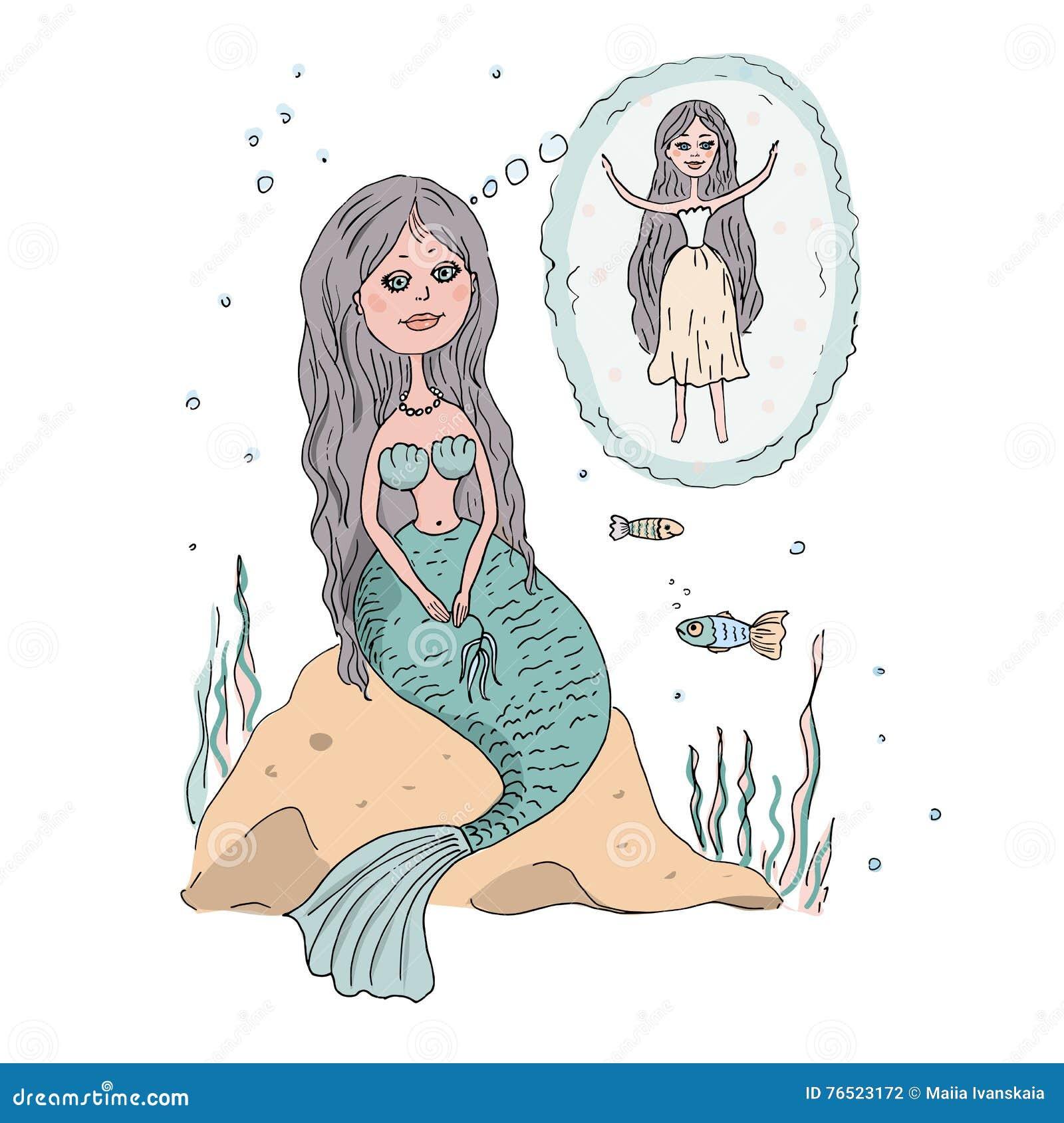 таких картинки как русалка сидит на камне медики призвали