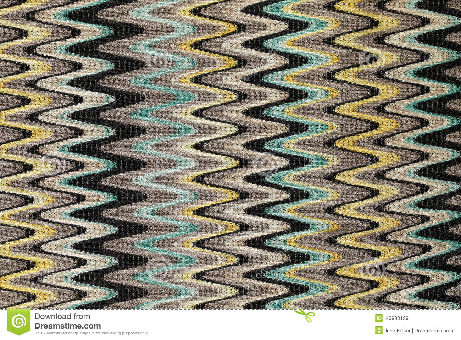 Синь, желтый и серый цвет развевают вертикальные линии ткань картины