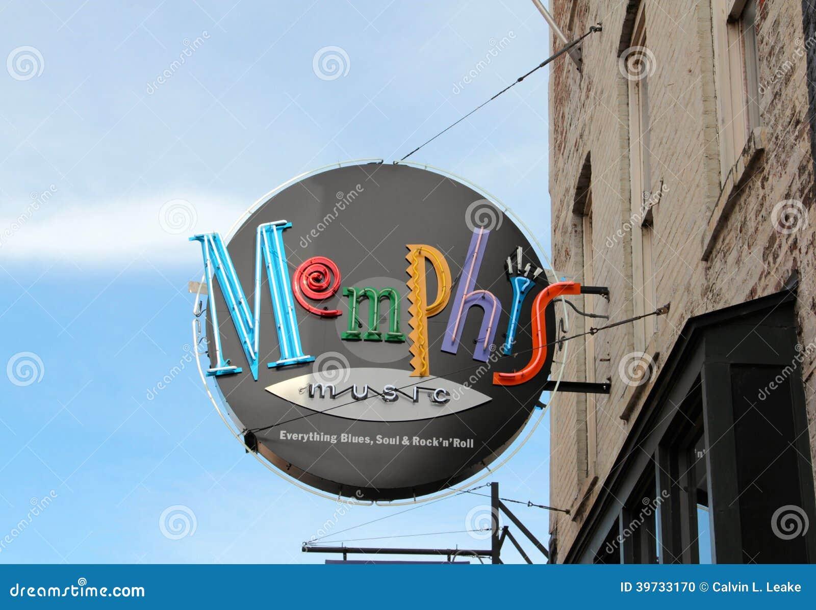 Син Мемфиса и улица Мемфис Beale джаз-клуба, Теннесси