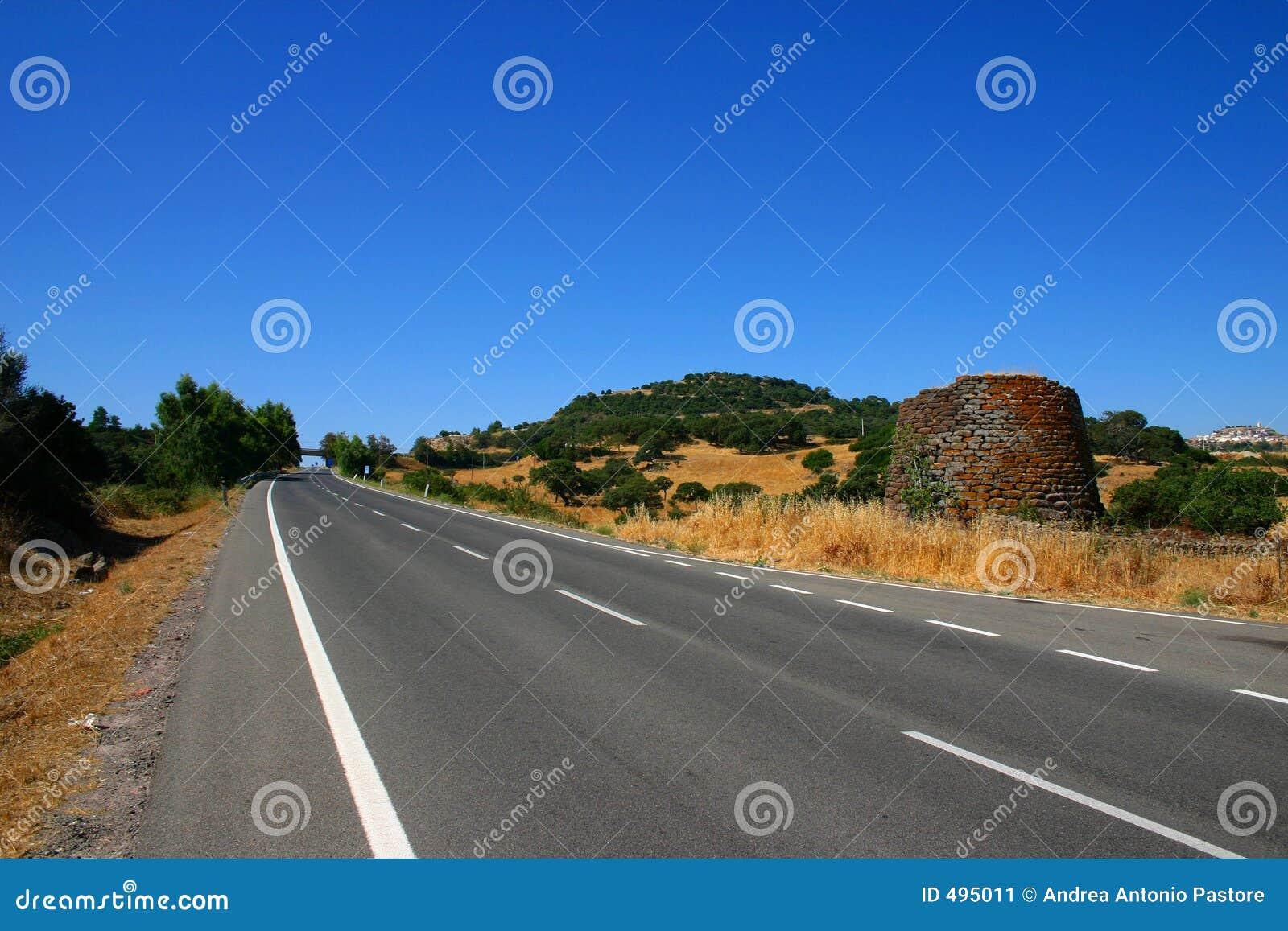 сиротливая дорога