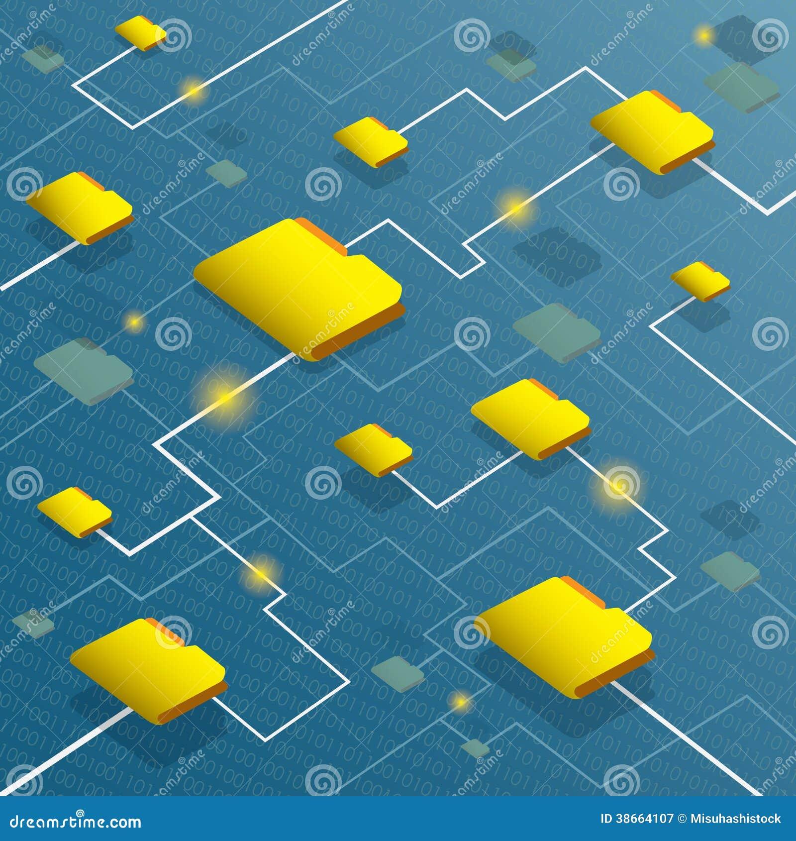 Система потока информации с предпосылкой бинарного кода