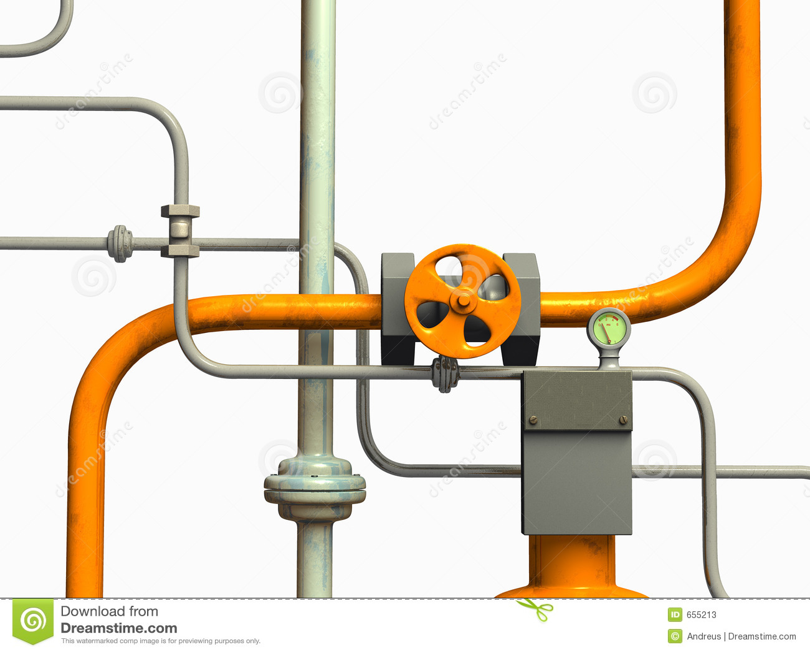 система труб