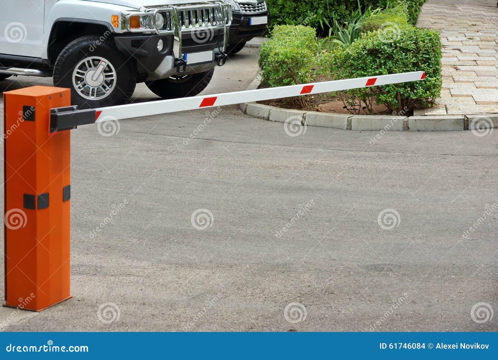Система управления автостоянки автомобиля, автоматический поднимая барьер руки