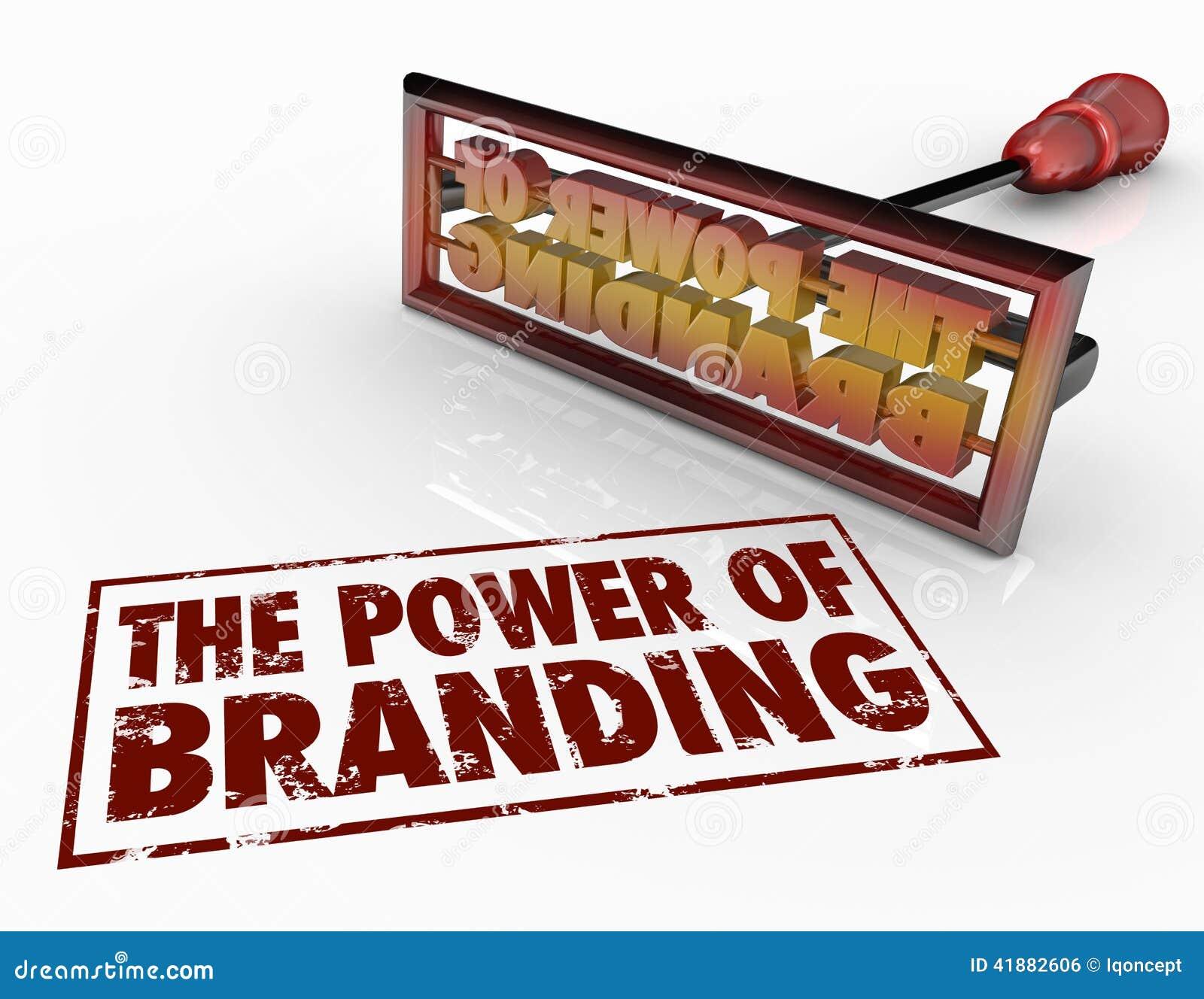 Сила клеймя утюга формулирует доверие идентичности маркетинга