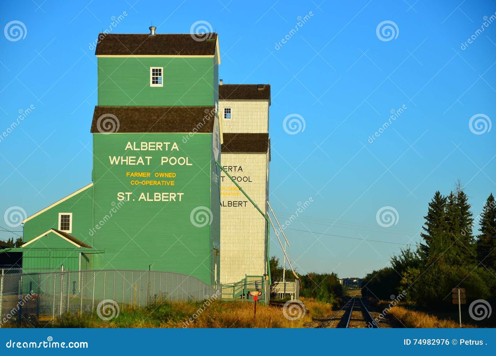 Силосохранилища зерна Канада