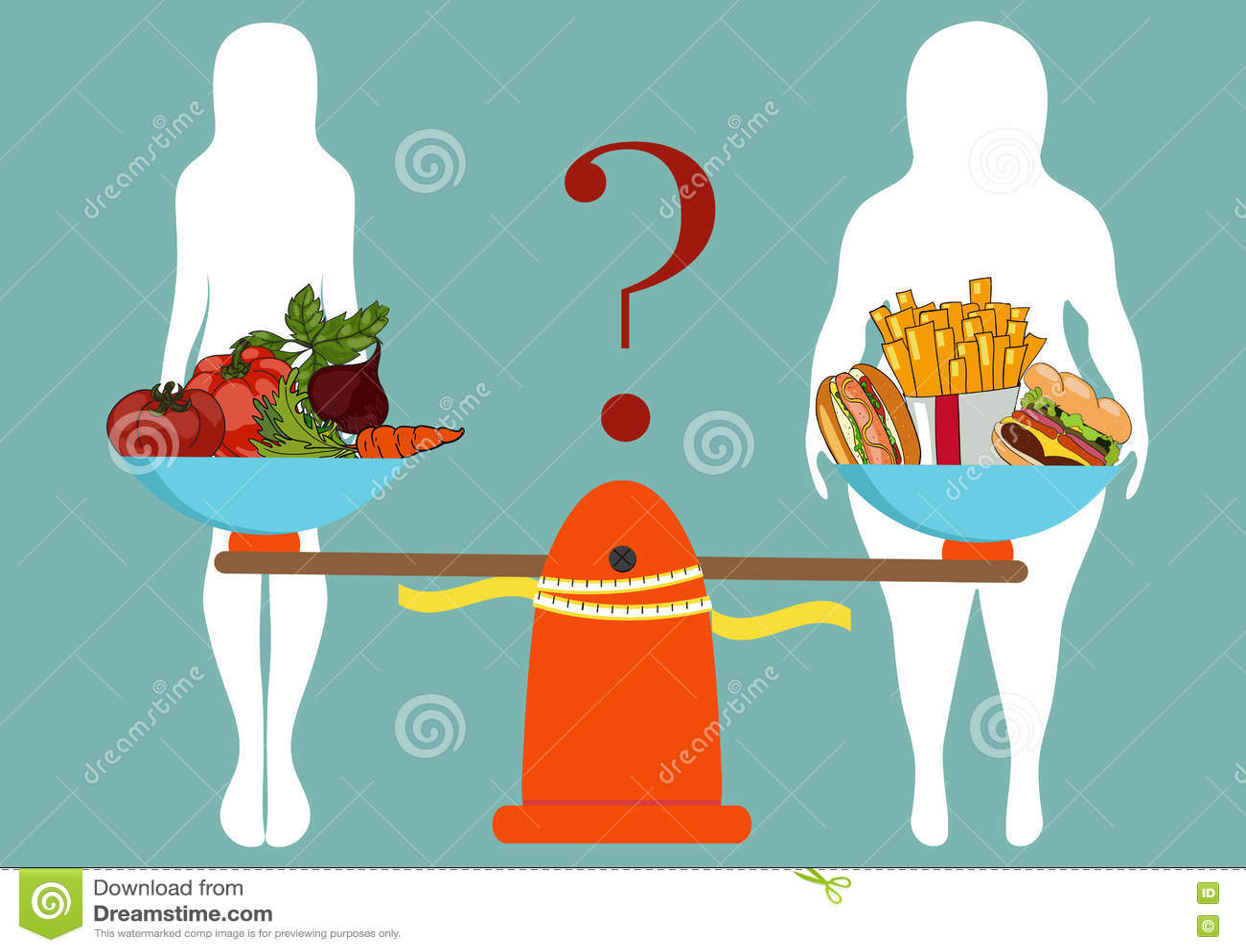 Download Силуэты женщин утончают и толстый с овощами и быстрым Foo Иллюстрация вектора - иллюстрации насчитывающей нарисовано, пригодность: 72289772