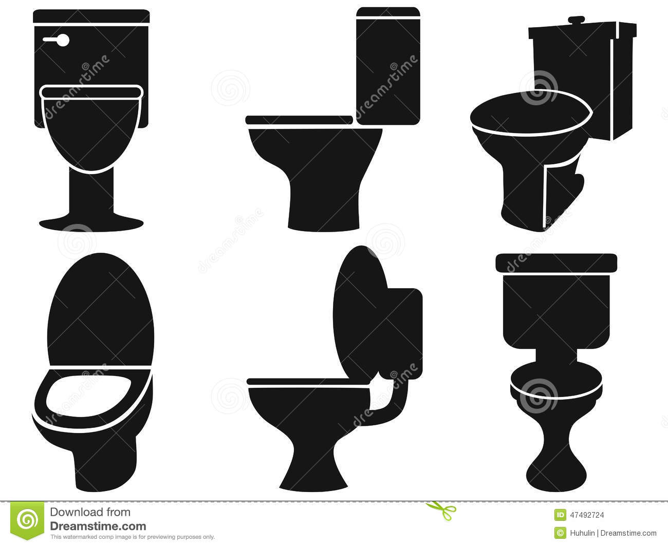 Free download of Toilet vector graphics and illustrations